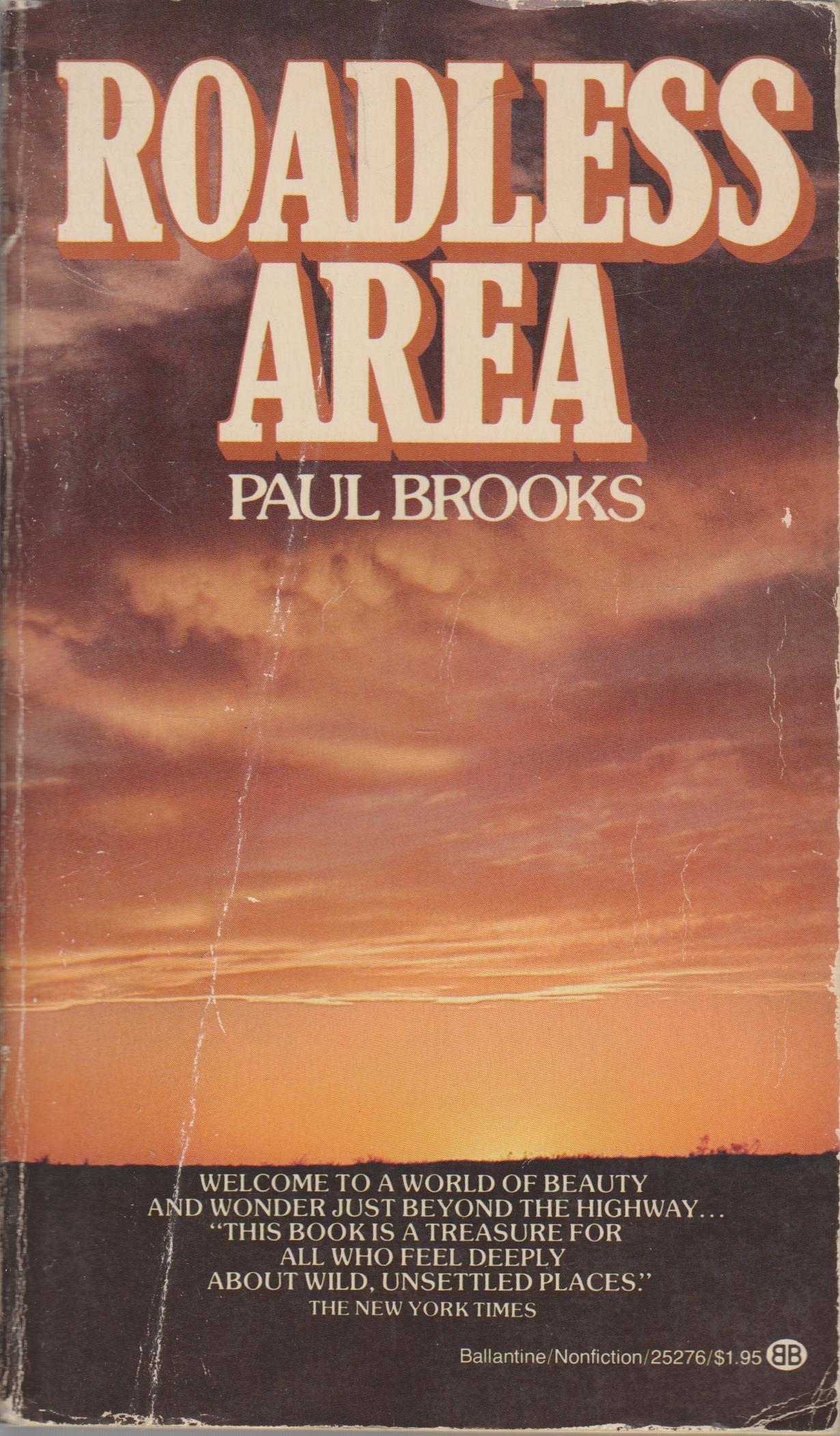Roadless Area by Paul Brooks