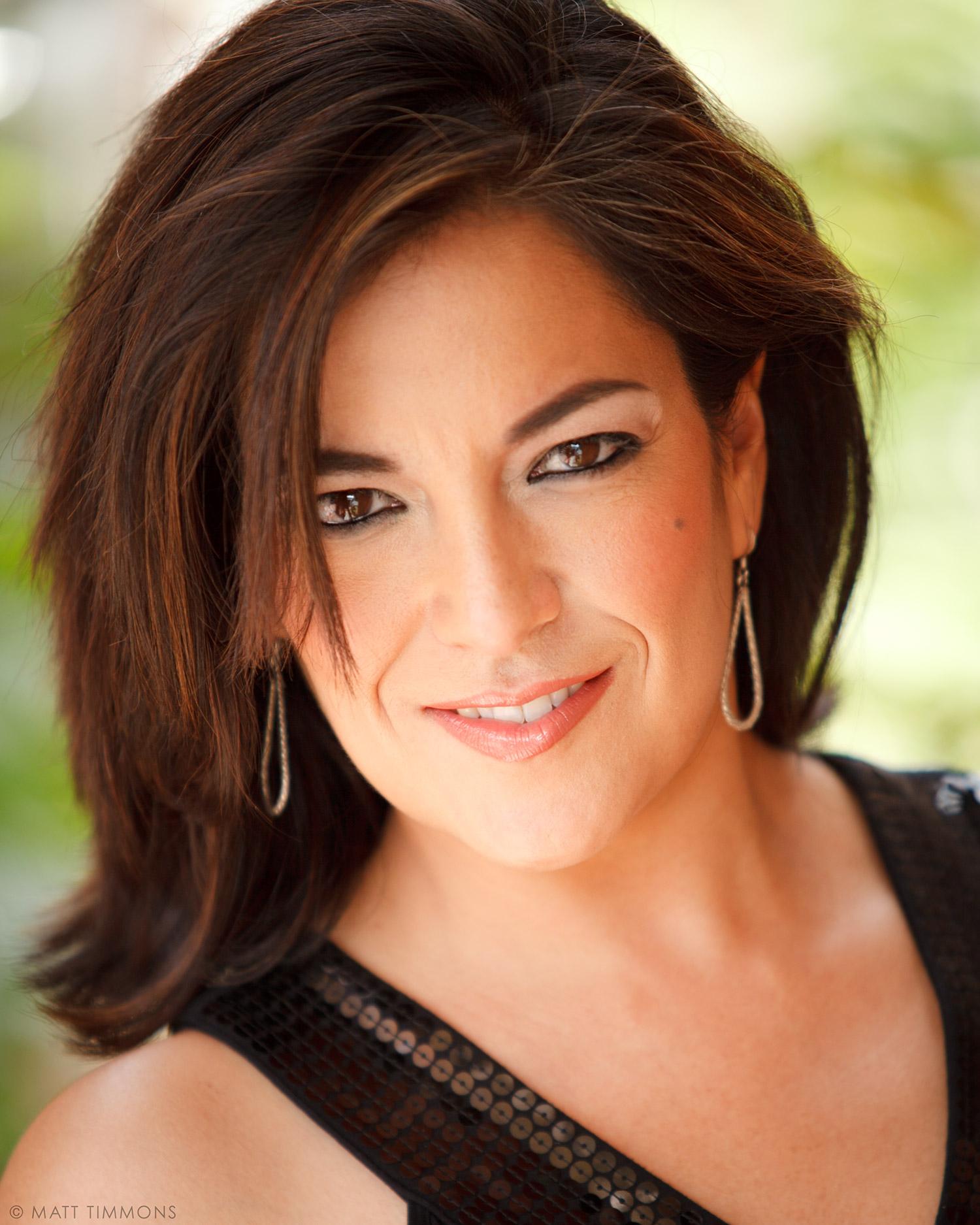 Professional Albuquerque Head Shots: Irene Estrada, Television Show Host.