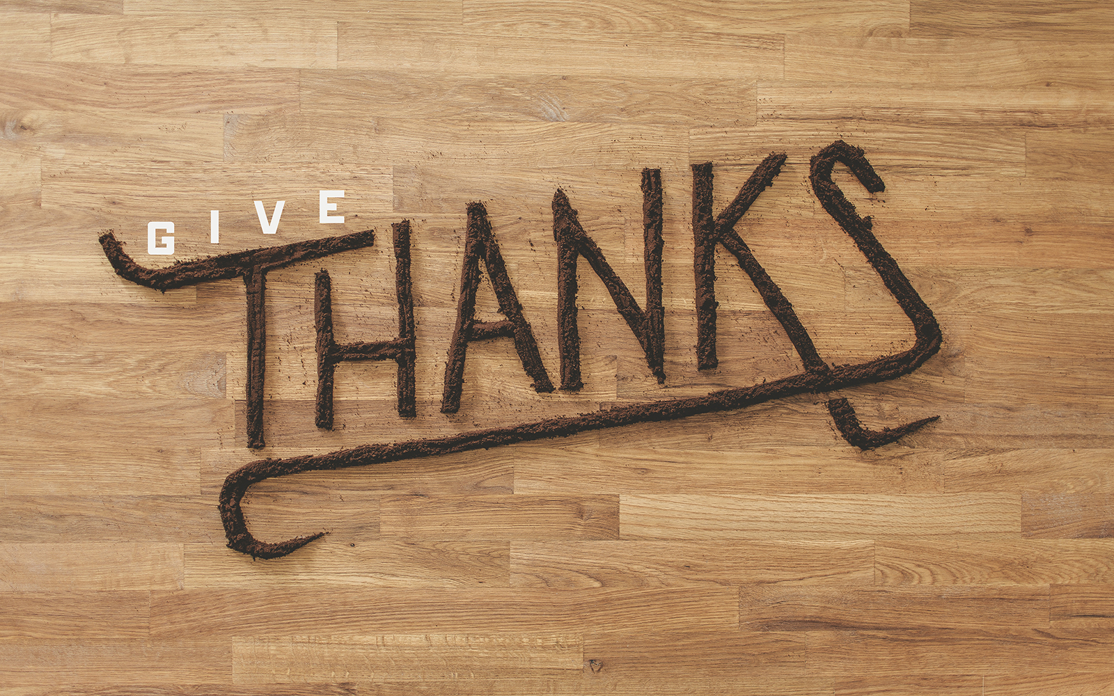 THANKFUL - Art Direction, & Photography; Type done by Harbr Co.