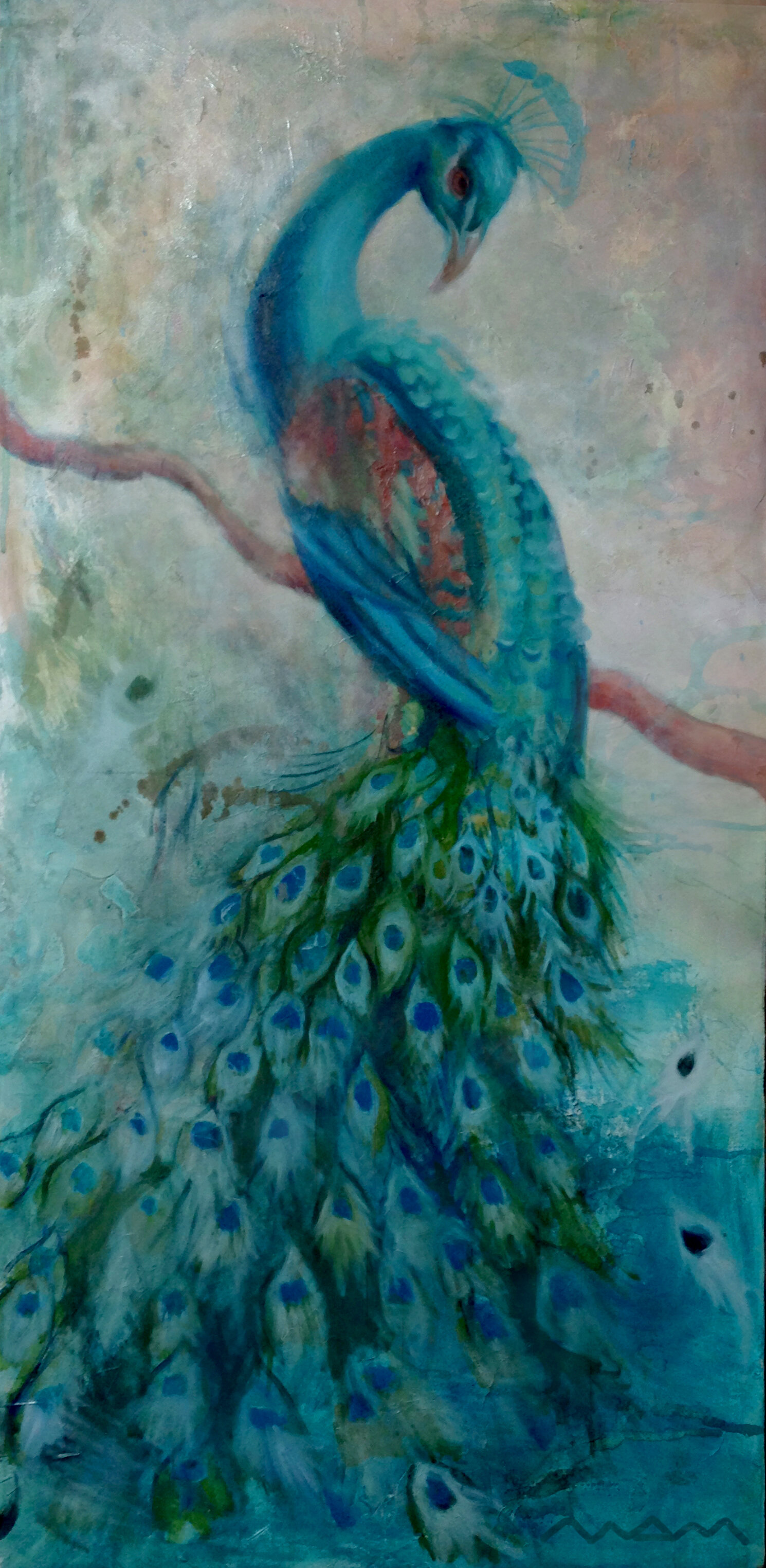 Peacock (Sold)