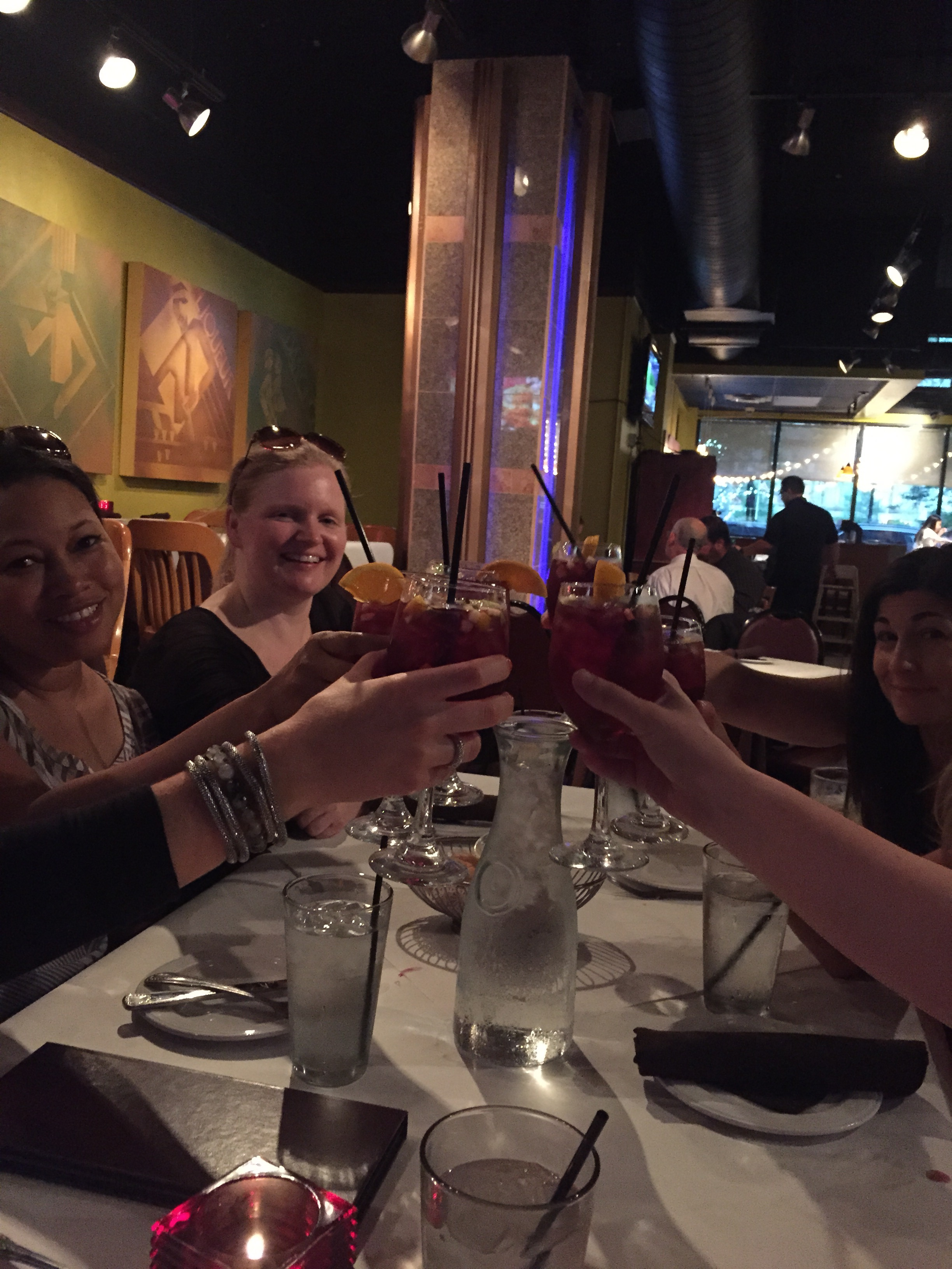 Sangria at  Vicente's.