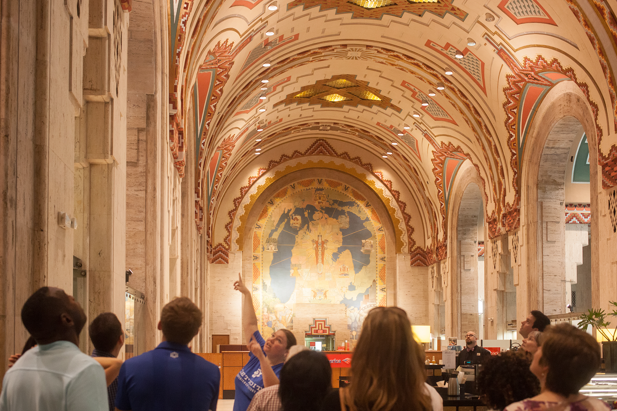 Highlights include:  The Guardian Building, The Riverwalk and Rivard Plaza, Heidelberg Project, Willis/Canfield Retail District