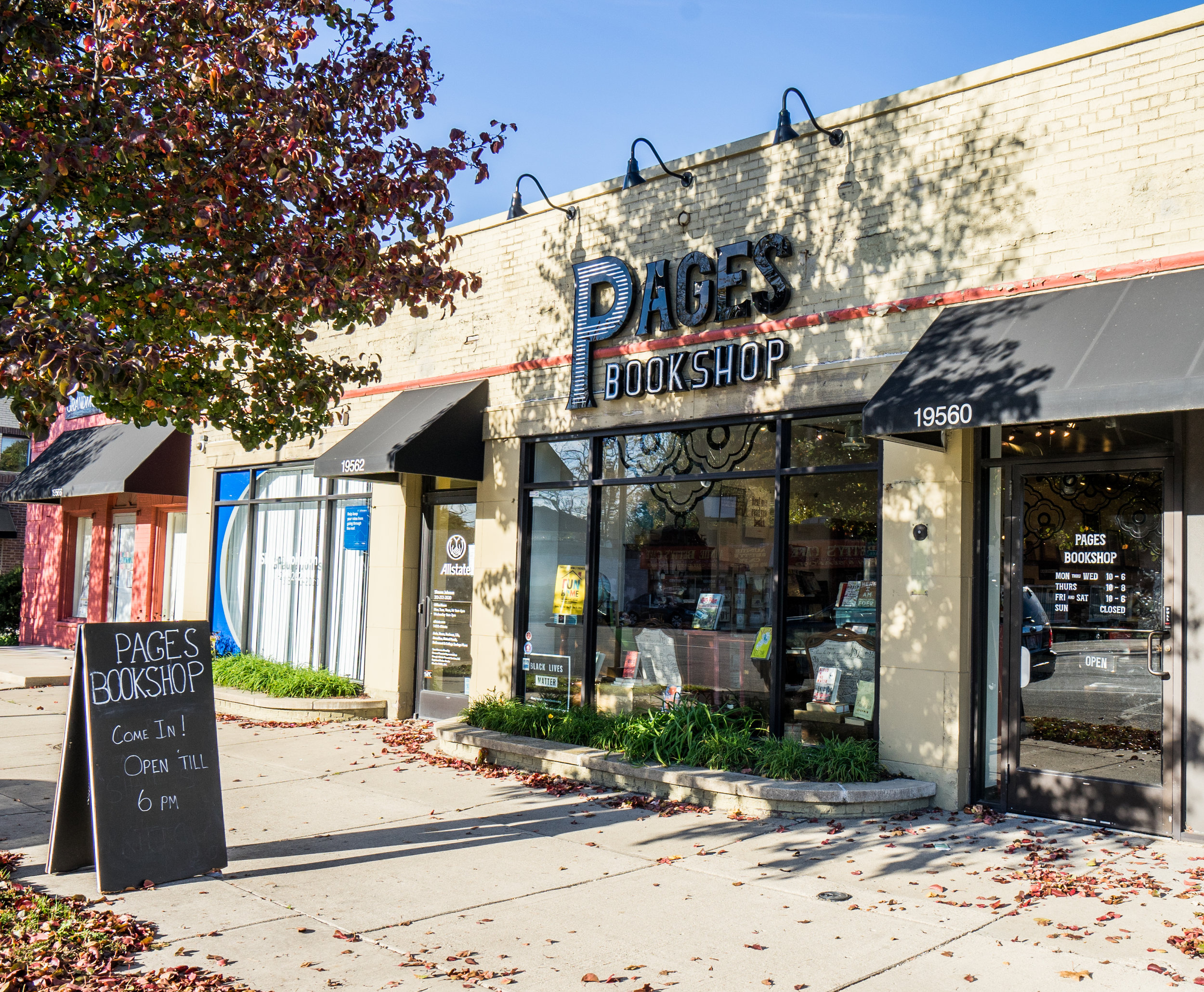 Pages Bookshop  19560 Grand River Ave, Detroit, MI 48223