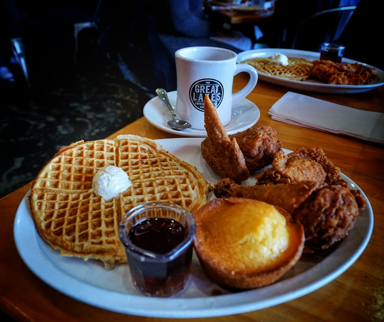 Kuzzo's Chicken and Waffles  19345 Livernois Ave, Detroit, MI 48221