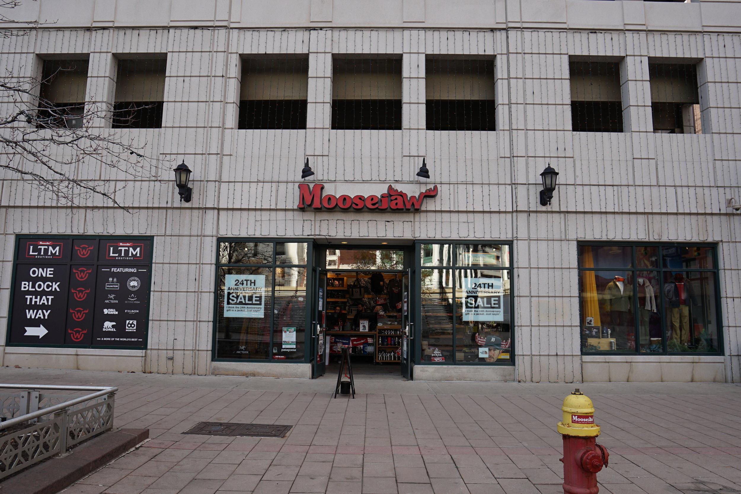 Moosejaw   1275 Woodward Ave, Detroit, MI 48226