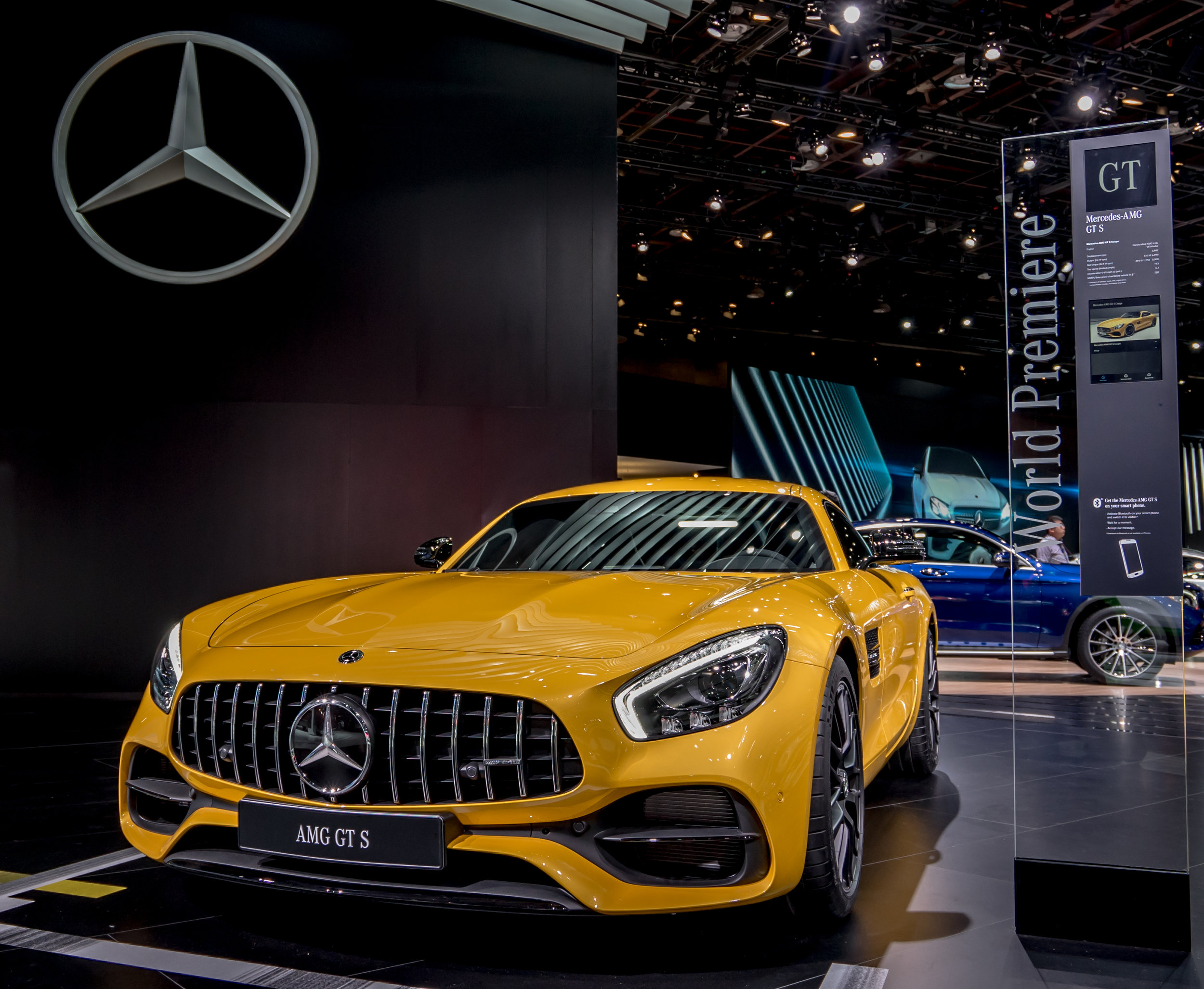 2017 Mercedes Benz AMG GT S