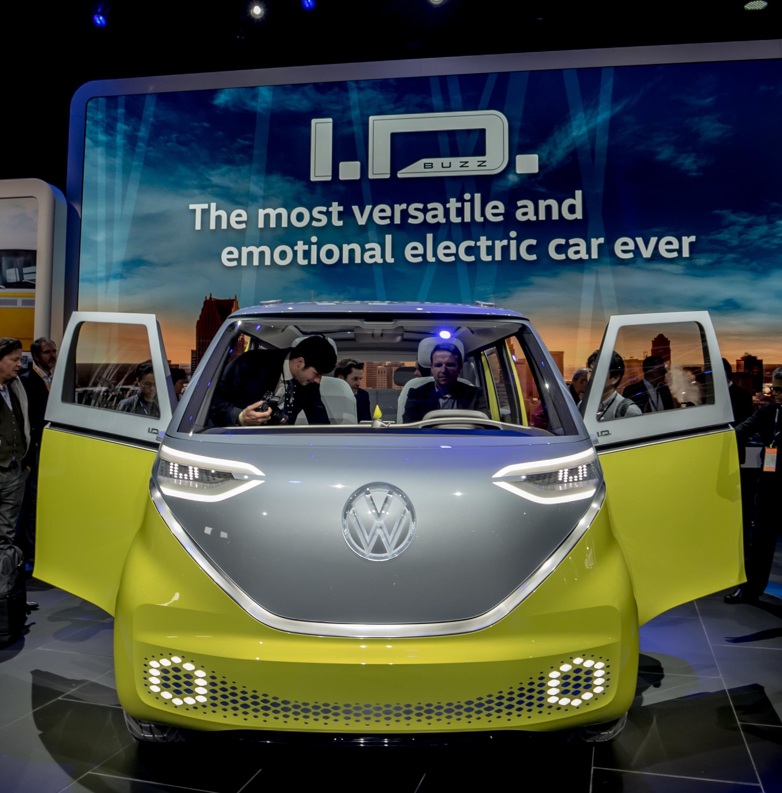 Volkswagen I.D. Microbus Concept