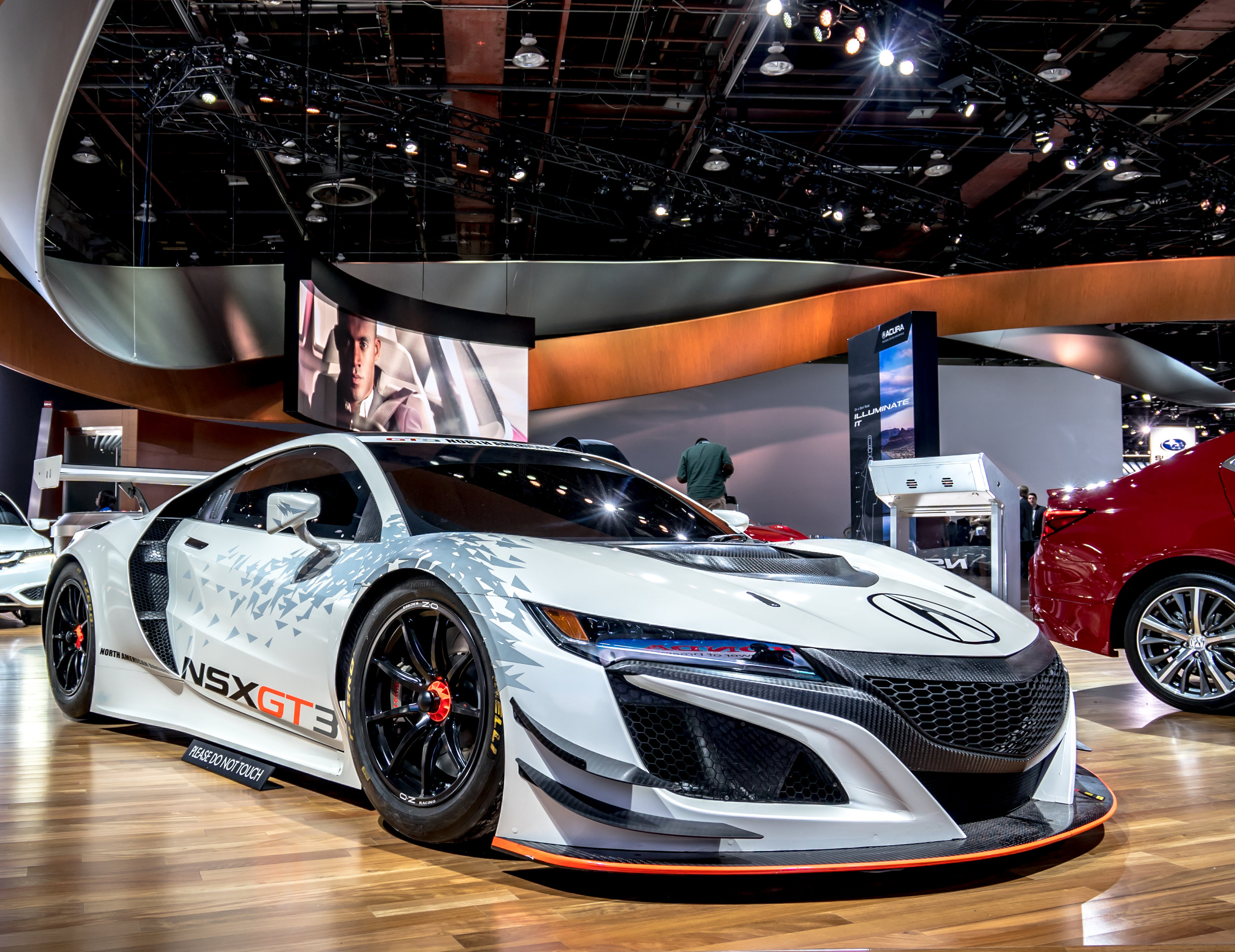 2017 Acura NSX GT3 Race Car
