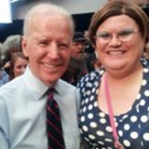 Vice President Joe Biden & Leahnora Isaak