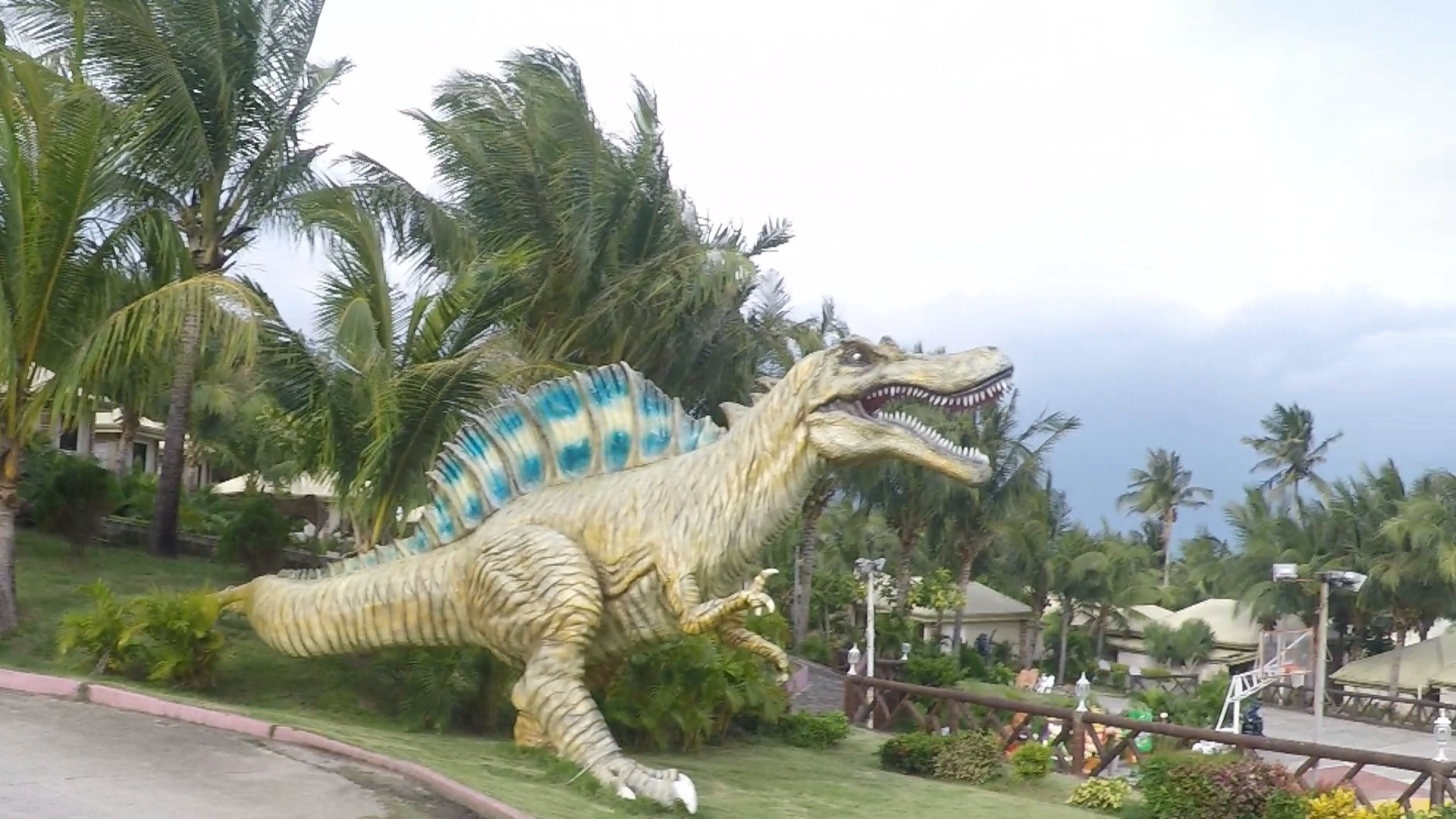 Hannah's Resort Ilocos Norte Dinosaur