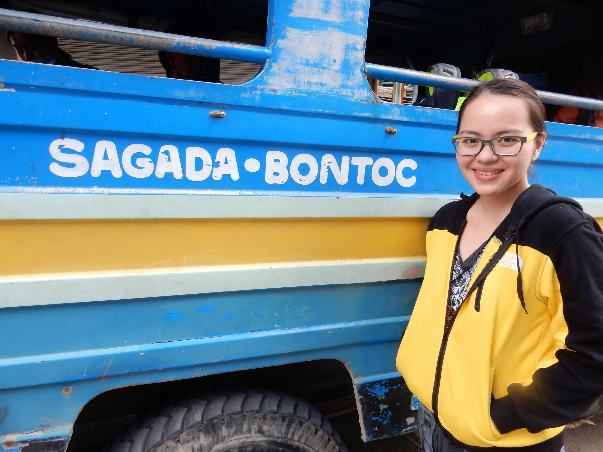 jeep from bontoc to sagada