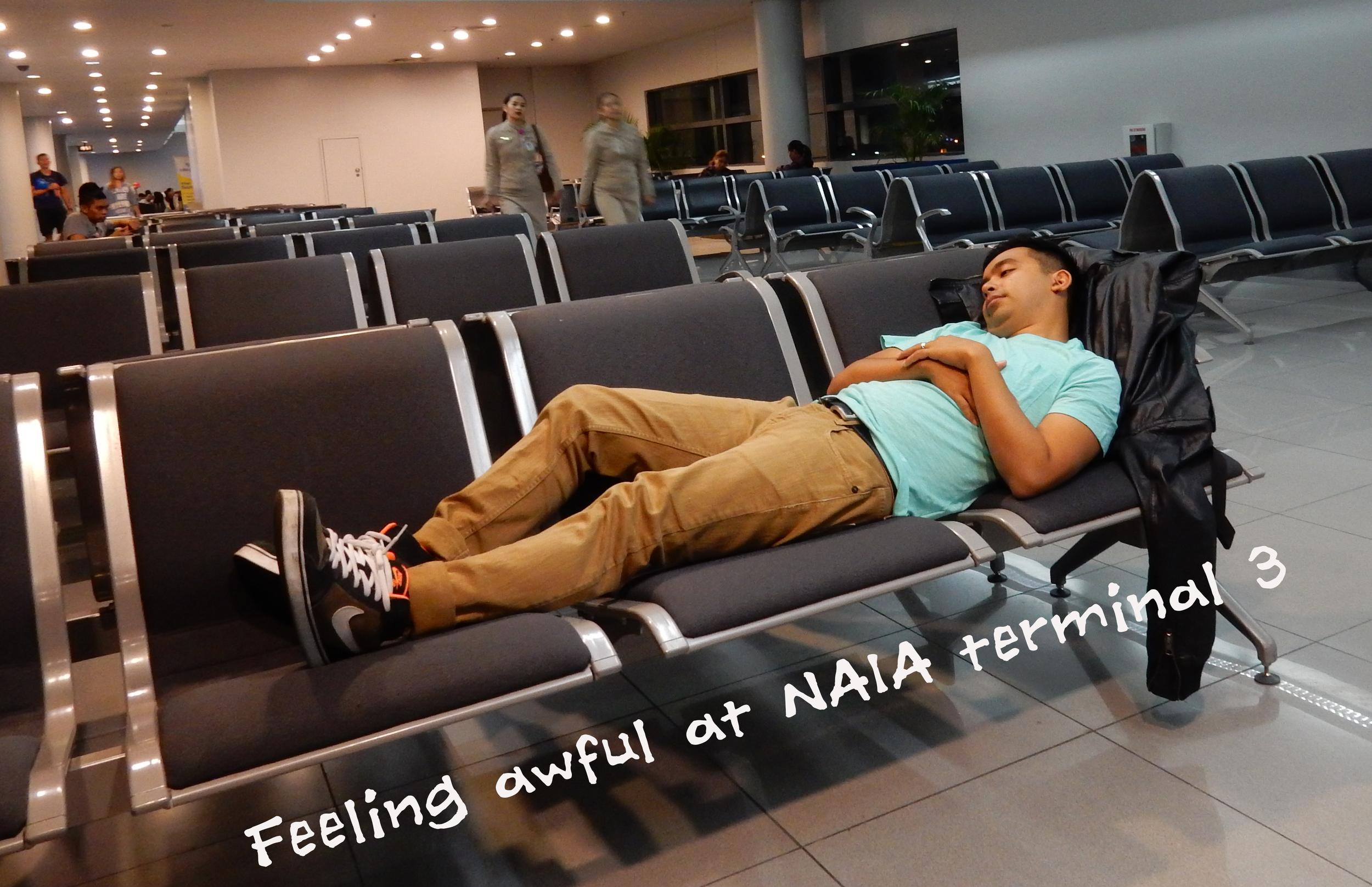 Asleep at NAIA3
