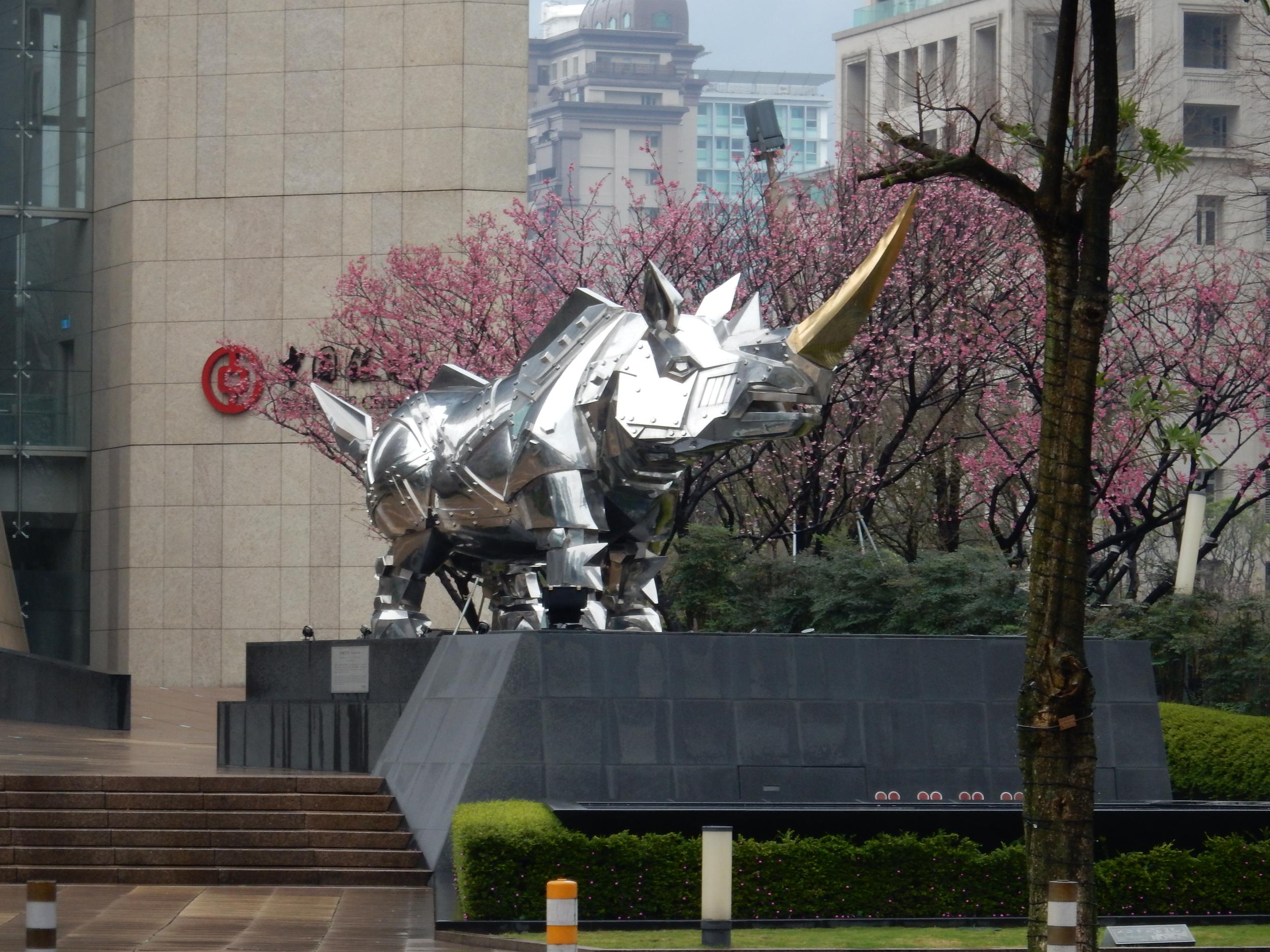 Sculptures in Taipei City