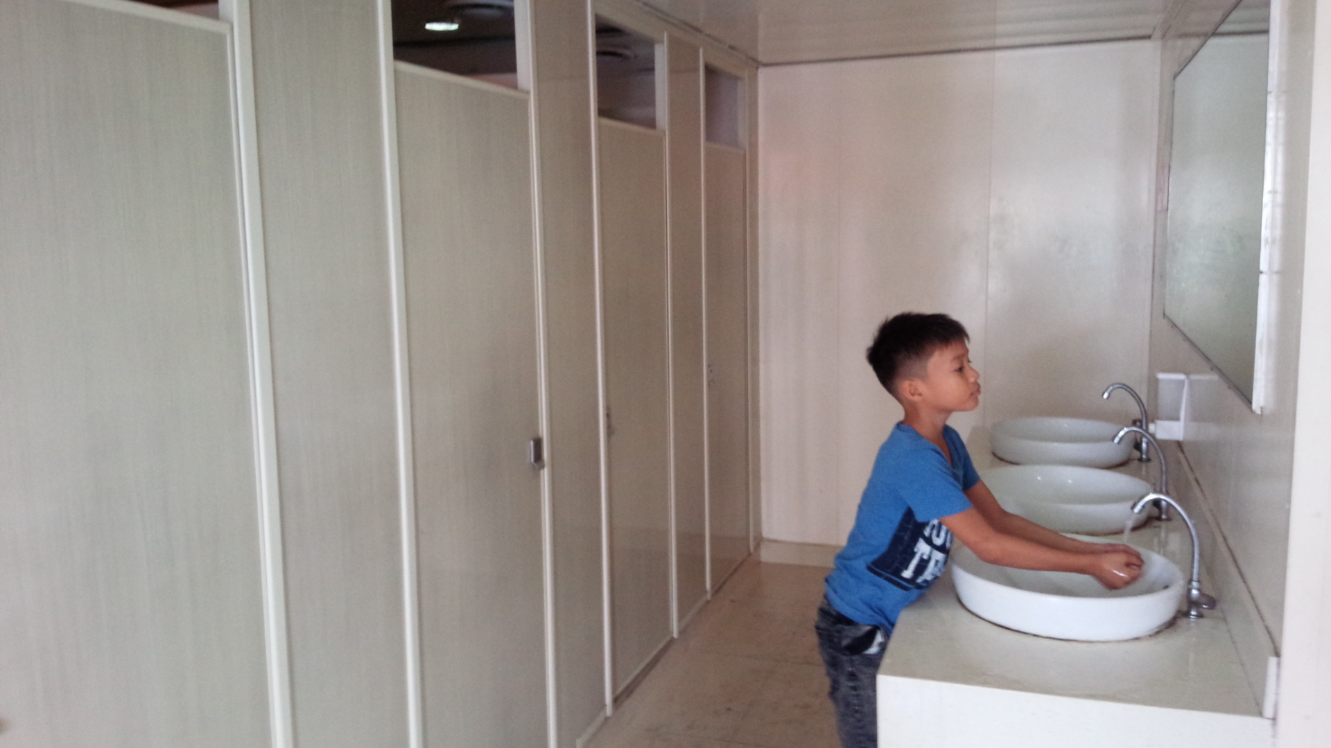 Bathrooms on the 2GO travel boat