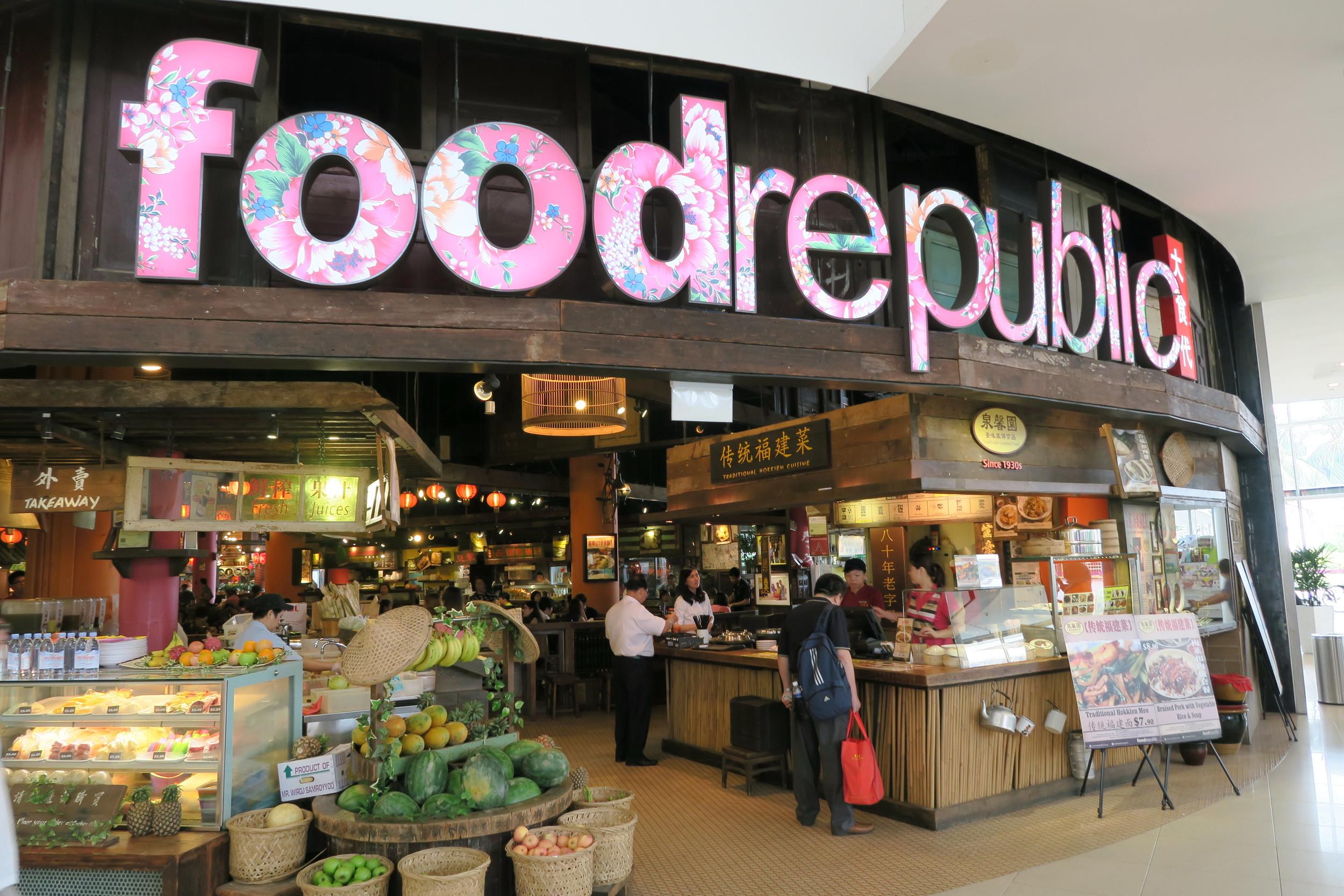 Food Republic in Vivo City SIngapore