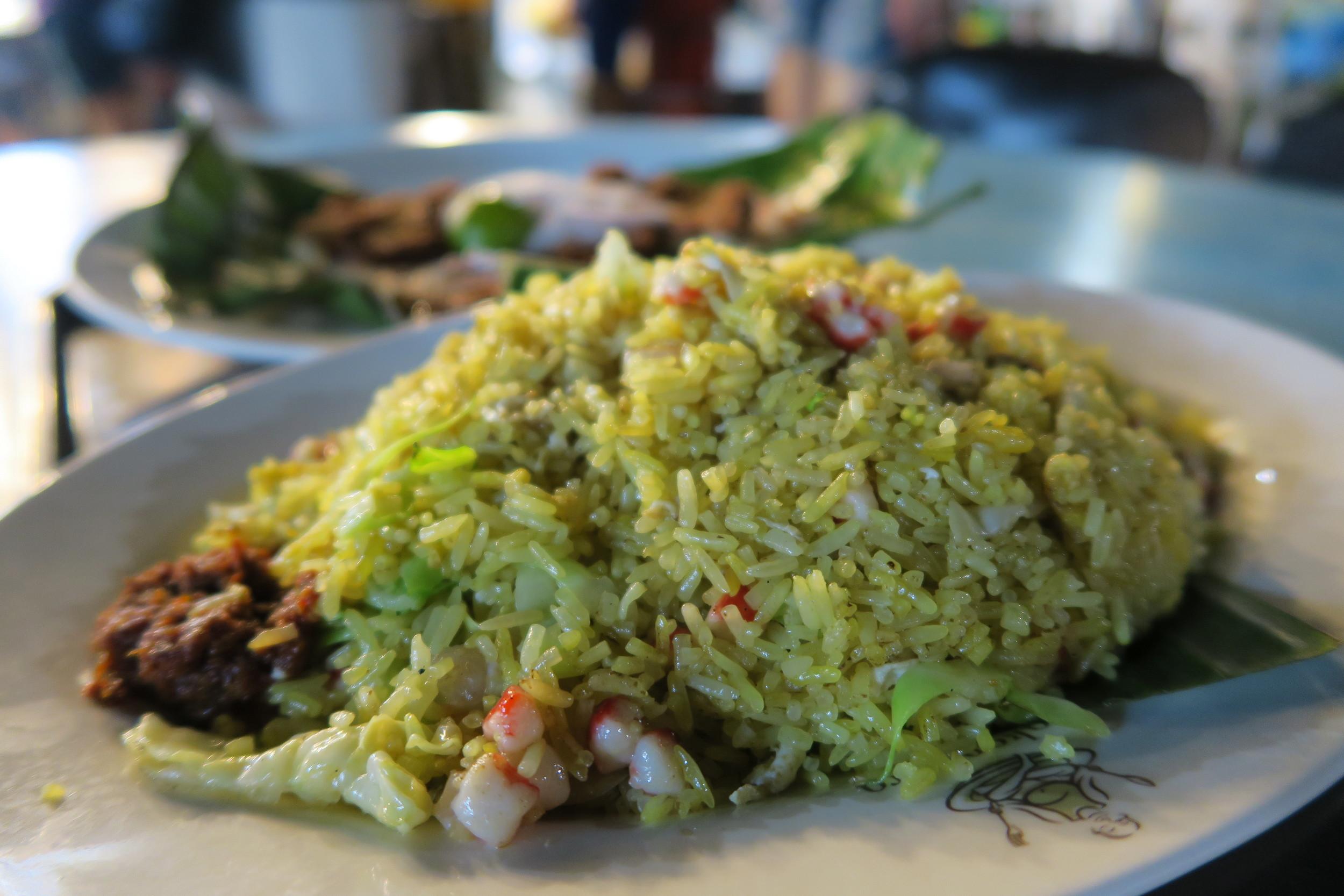 Fried rice in Singapre