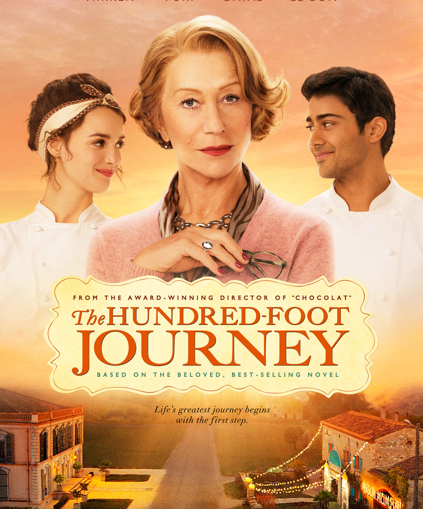 Produced by Steven Spielberg, Oprah Winfrey and Juliet Blake. Directed by Lasse Hallstrom at DreamWorks Studio