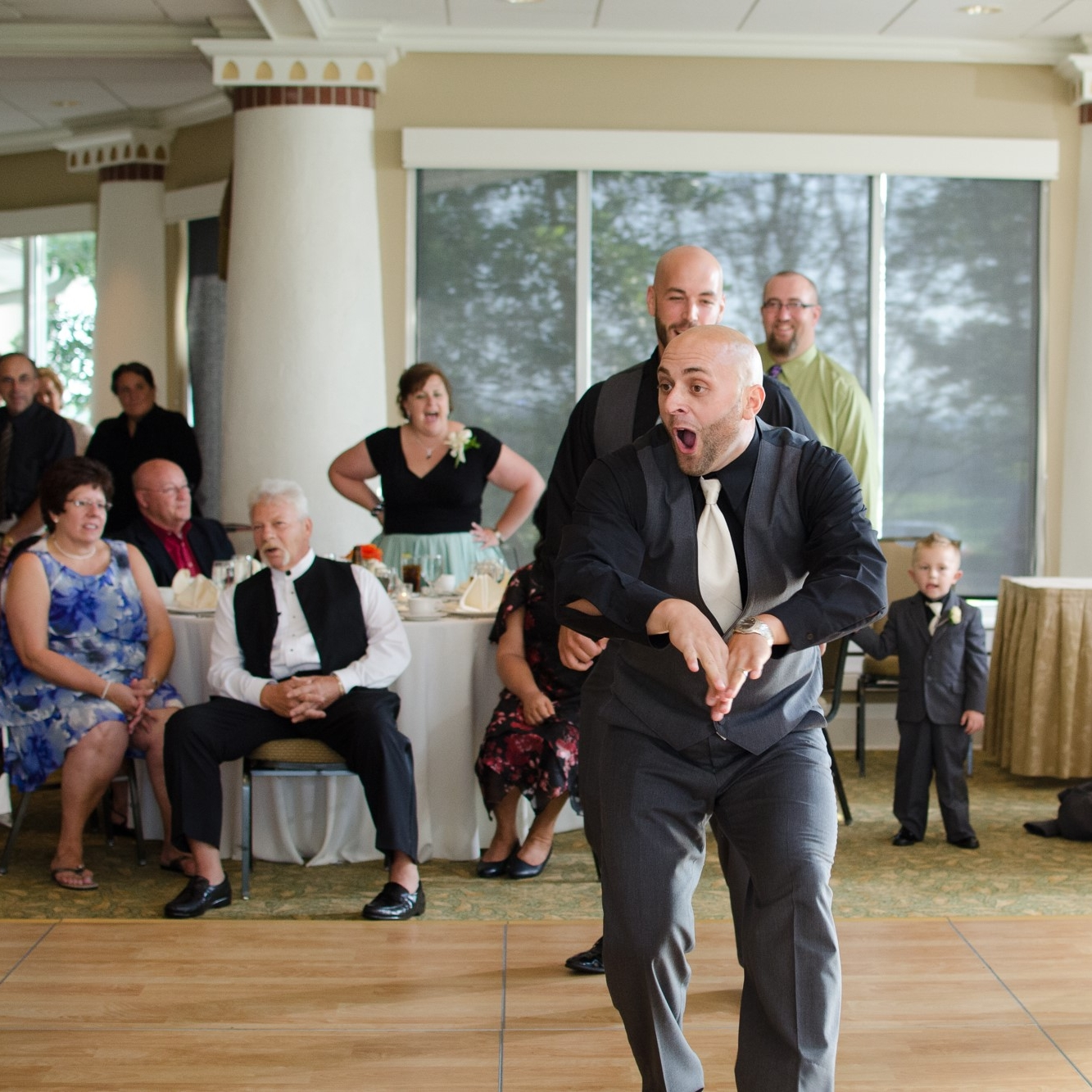 Fun Groom Dancing Lancaster Country Club