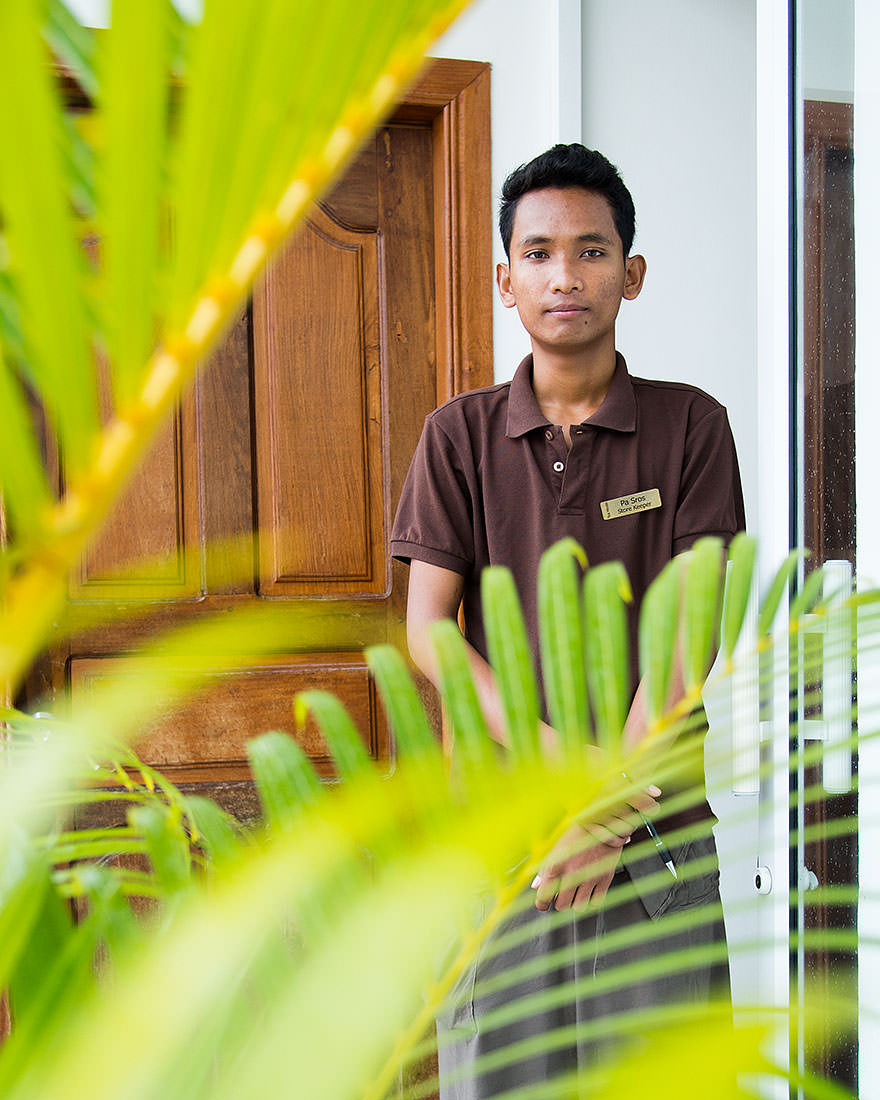 """""""It is difficult in Cambodia. It is difficult to earn money. Many children don't get an education beyond 8th or 9th grade. I hope to be an electrical engineer, but it is difficult to study because I have to work so much.""""   """"Do you love Cambodia?""""   """"I love Cambodia.""""   """"Why?""""   """"Because it is my country.""""  — Pa Sras (Phnom Penh, Cambodia)"""