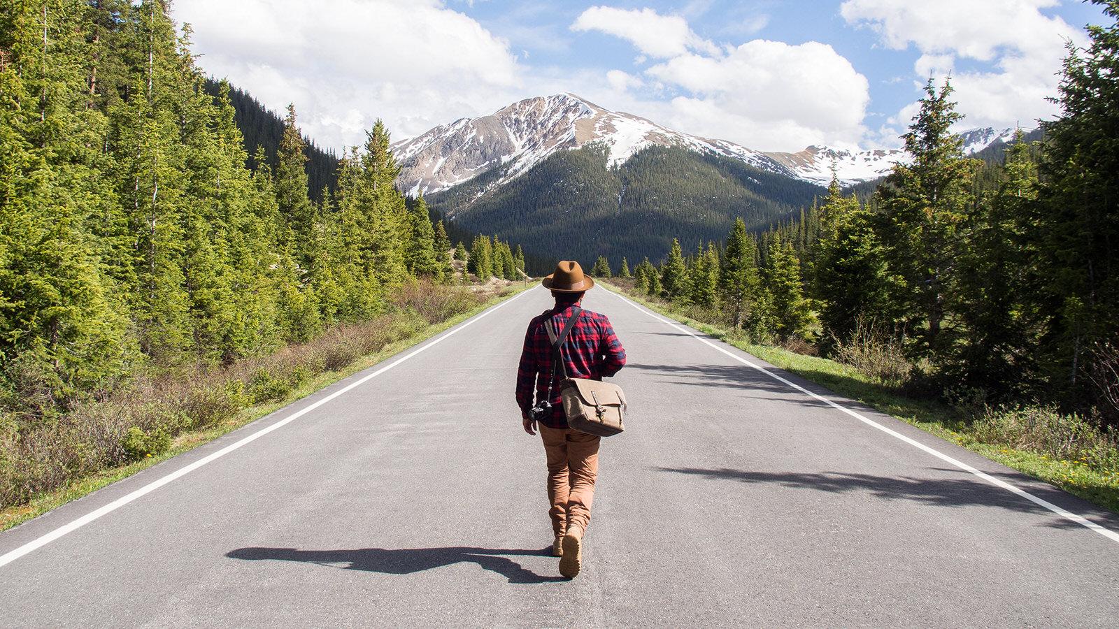 A walk high in the Colorado Rockies