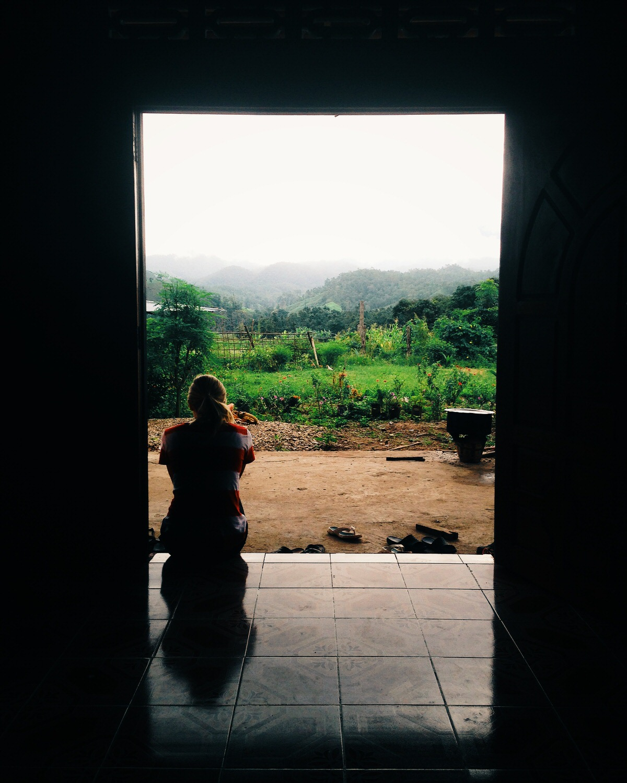 Rural home near the Thai-Burma border