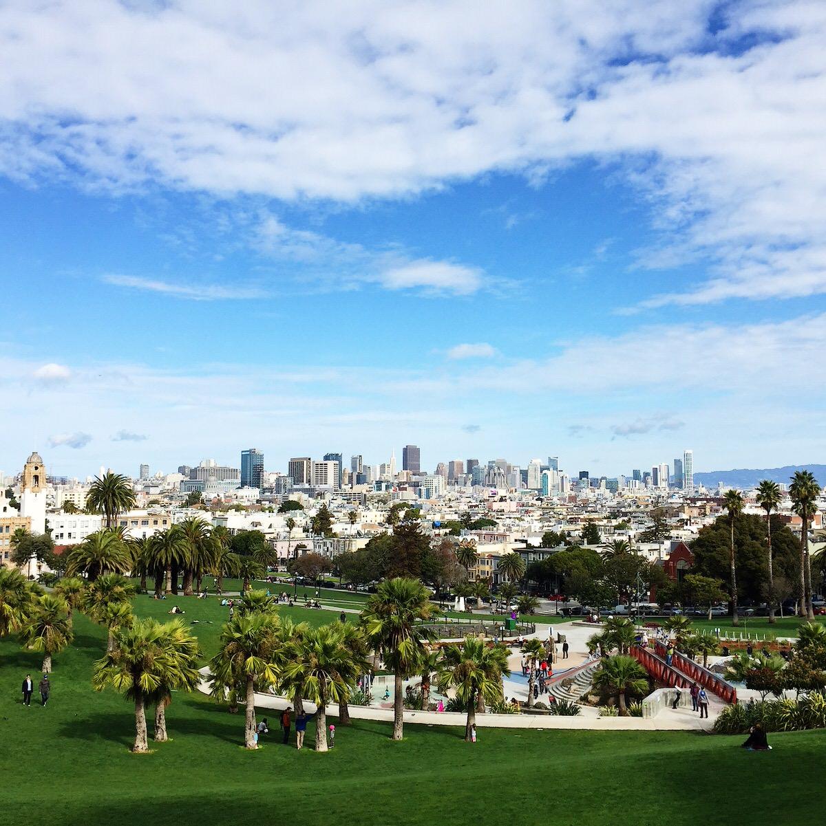 Dolores Park, San Francisco, CA