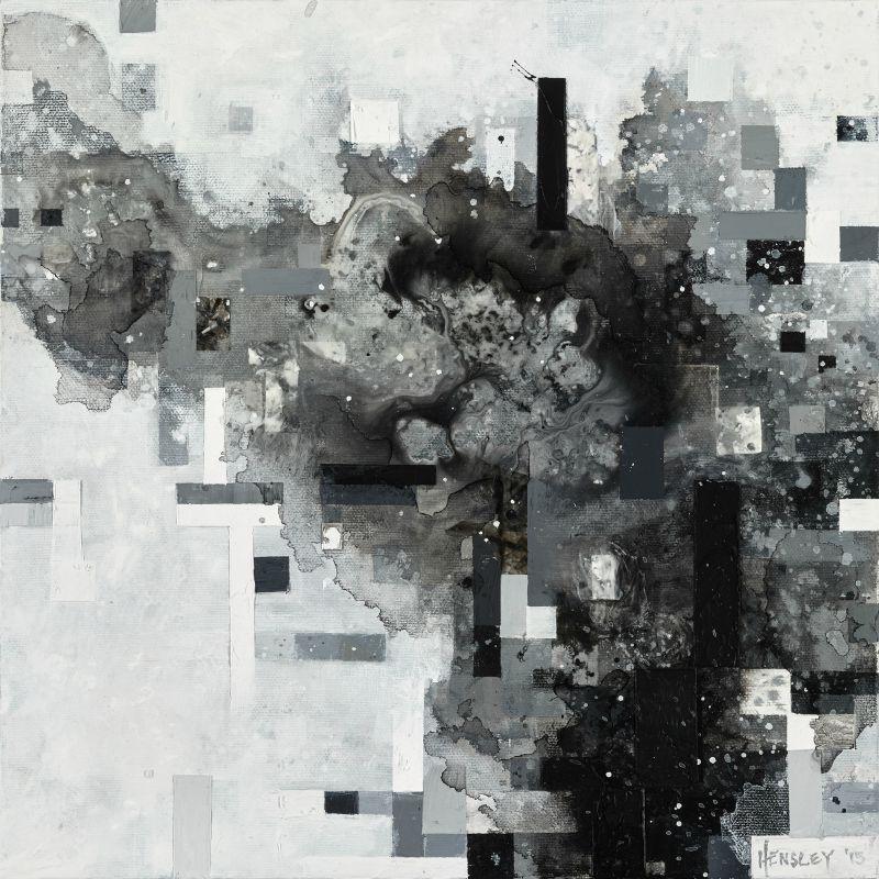 "Xanthus-Beya SSB415, acrylic on canvas, 12"" x 12"", 2015"