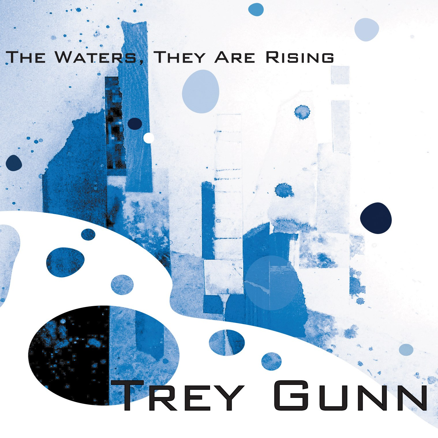 Cover art for Trey Gunn's 2015 release,  The Waters They Are Rising