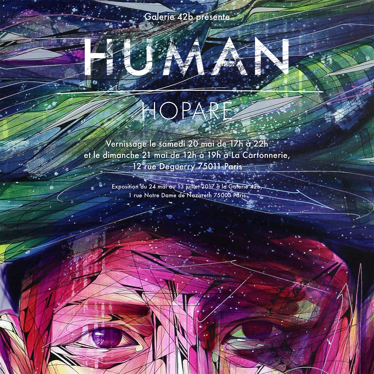 Invitation HOPARE - HUMAN