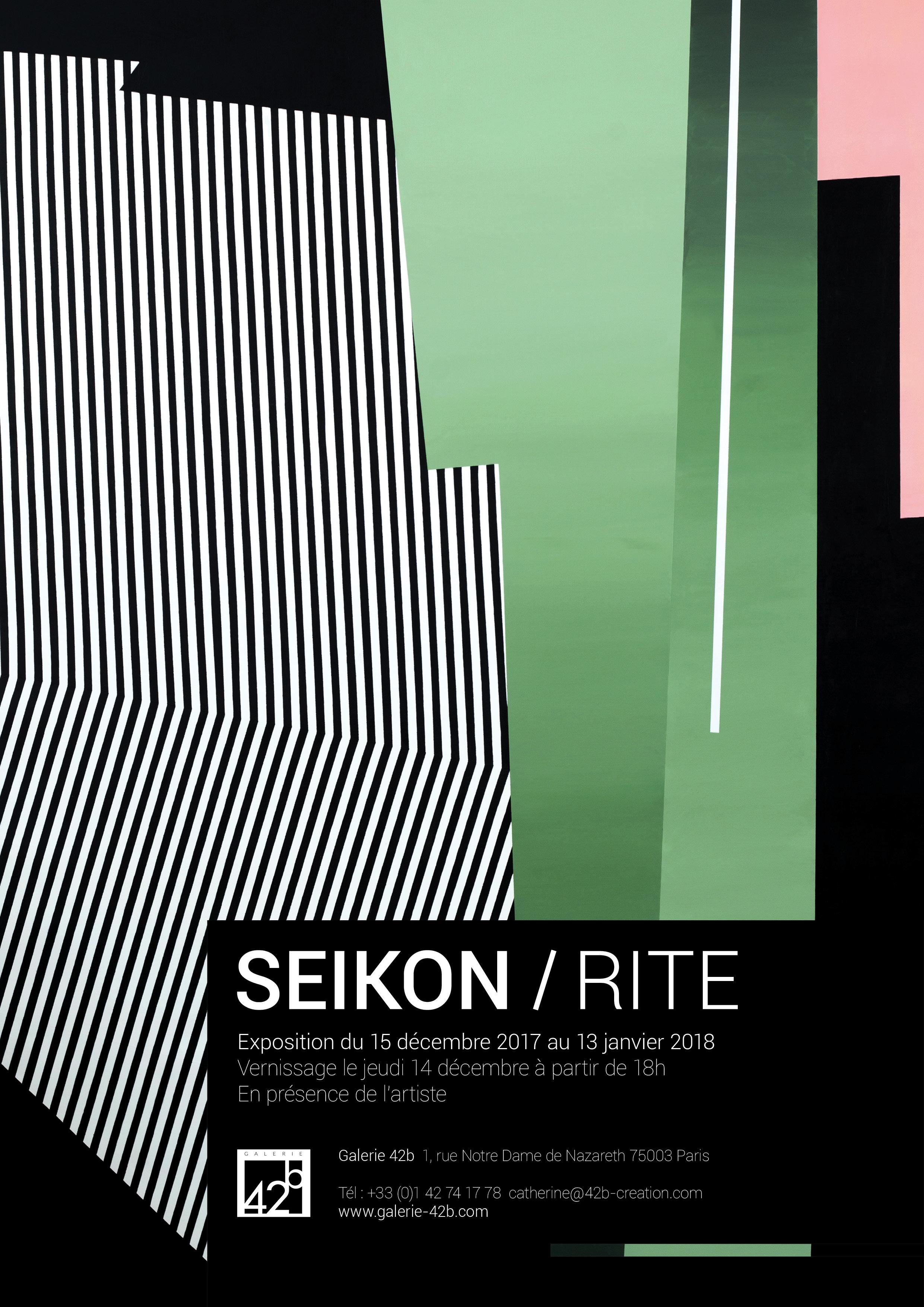 Invitation ROBERT SEIKON - RITE
