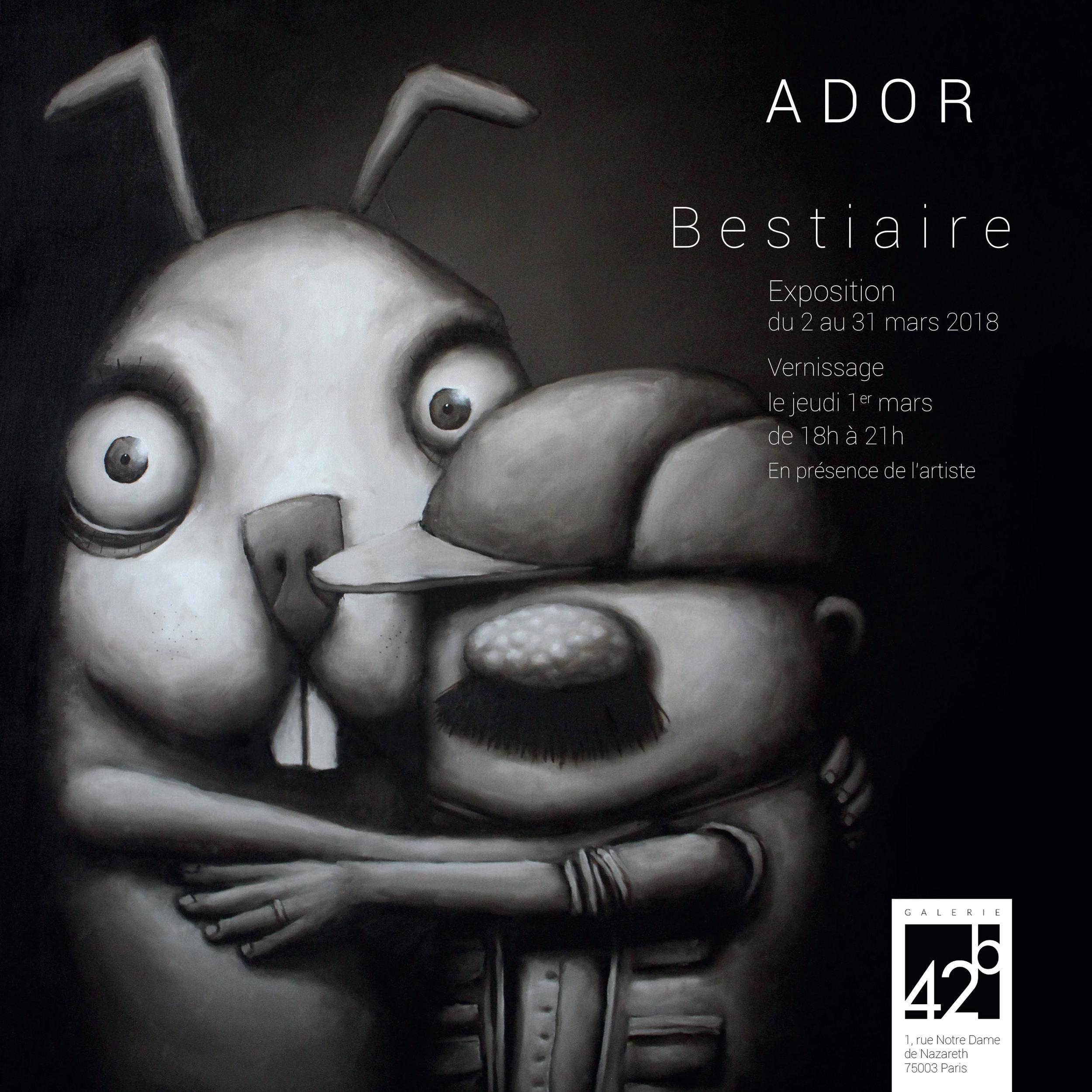 Invitation ADOR - BESTIAIRE