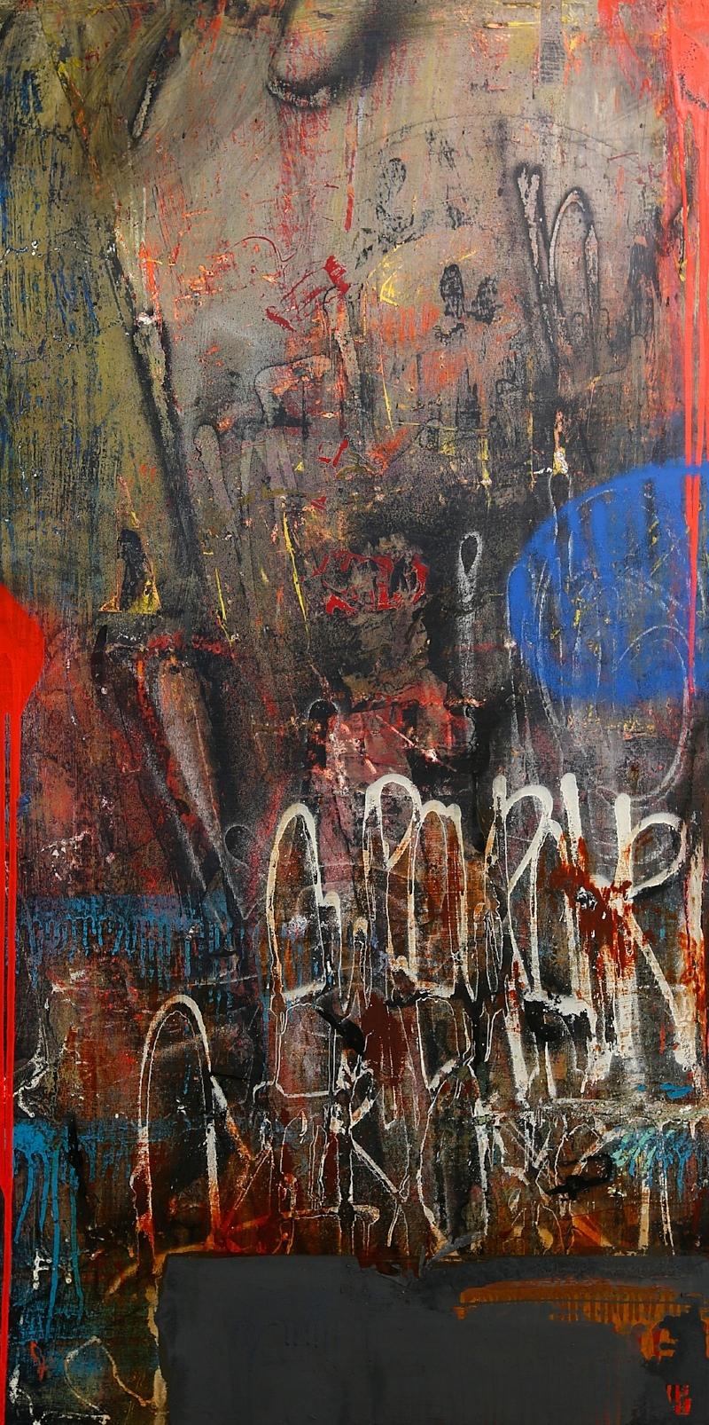 ZESER-Correlations-Acrylique et aérosol sur toile- 152 x 76 cm - 2018 - copie.jpg