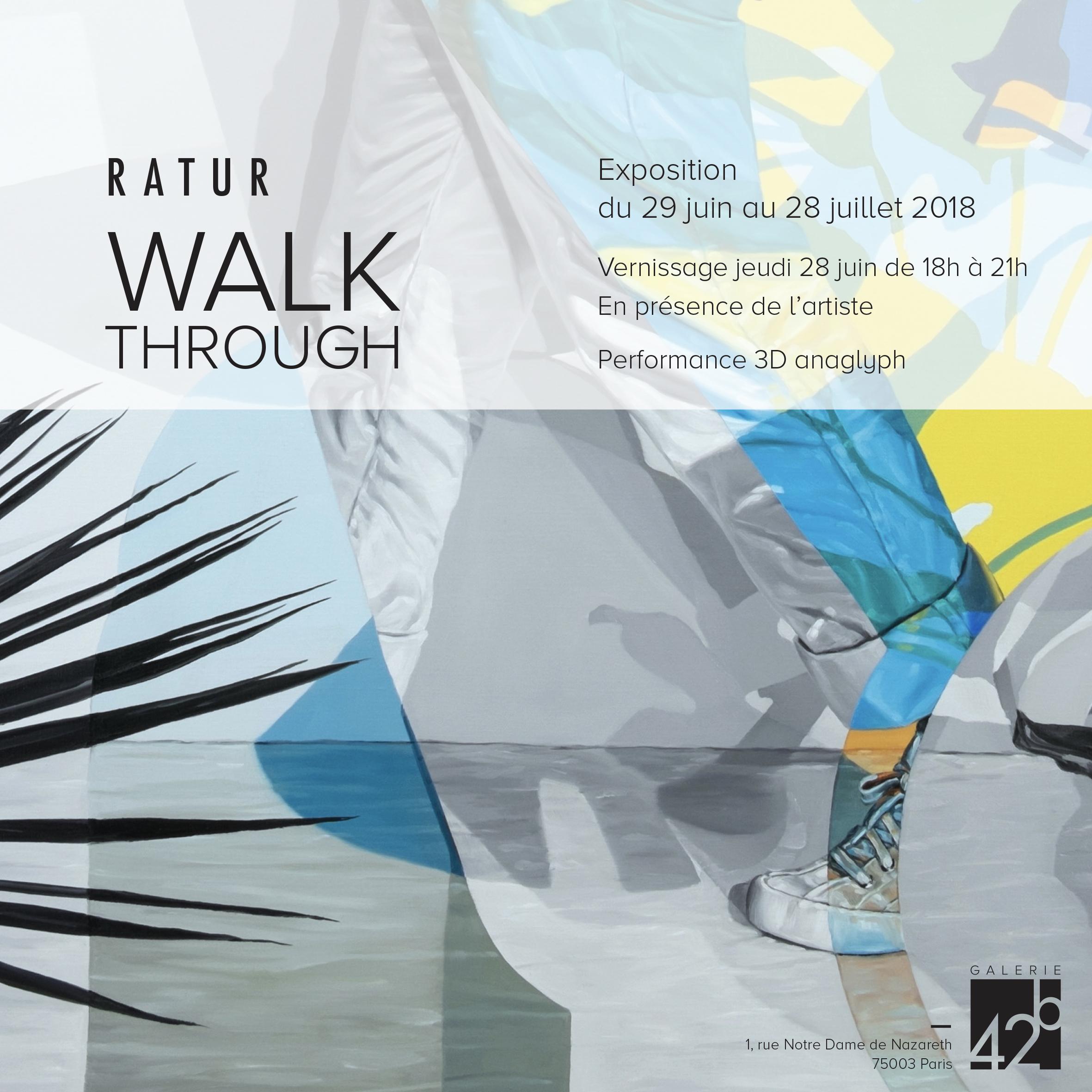 Invitation RATUR - WALK THROUGH
