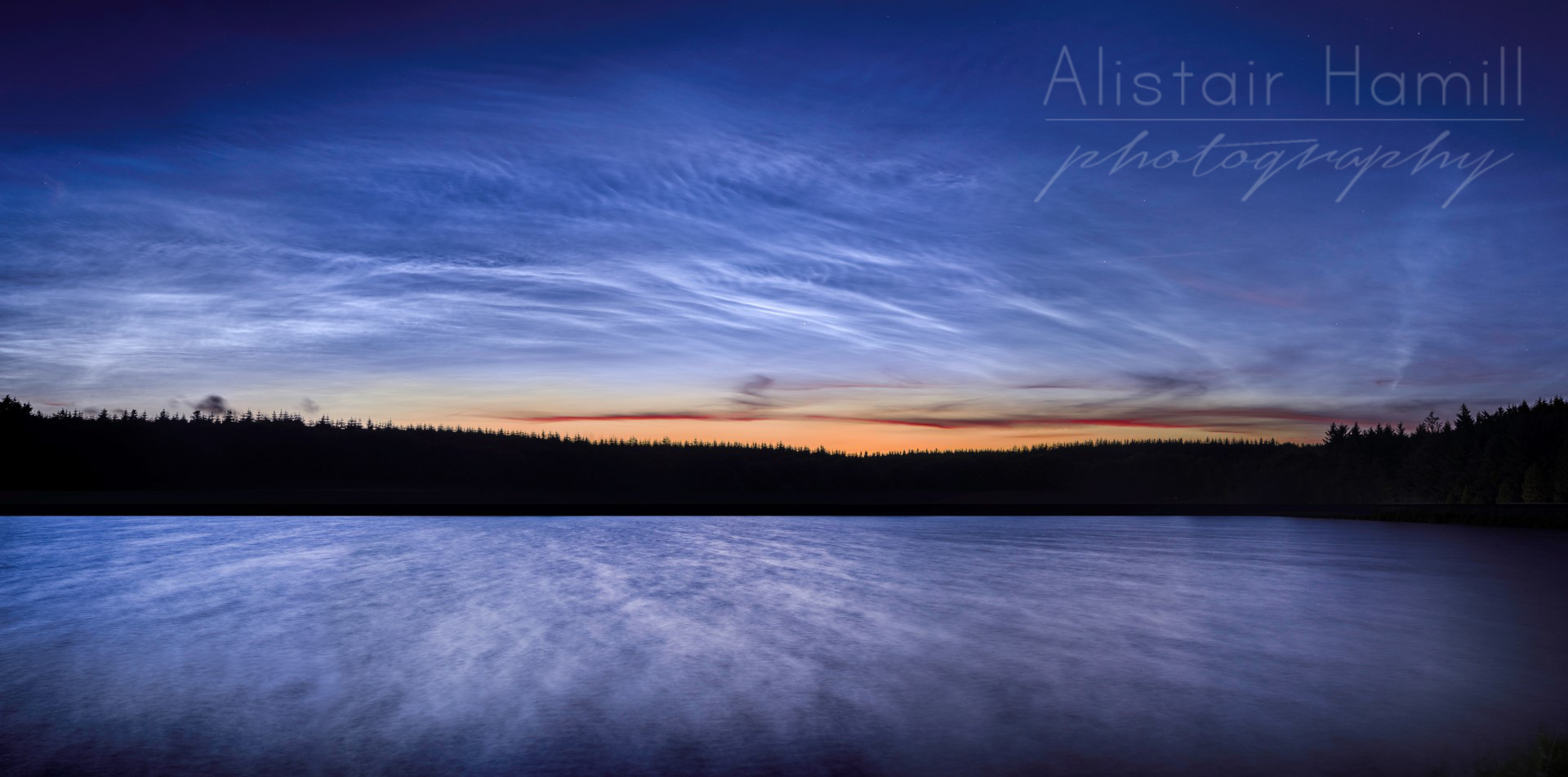 Noctilucent lake - NLC07