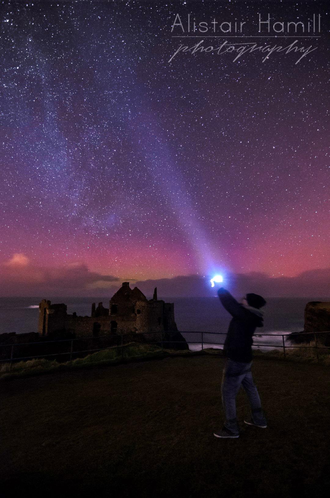 Dunluce Castle selfie (Large) wm.jpg