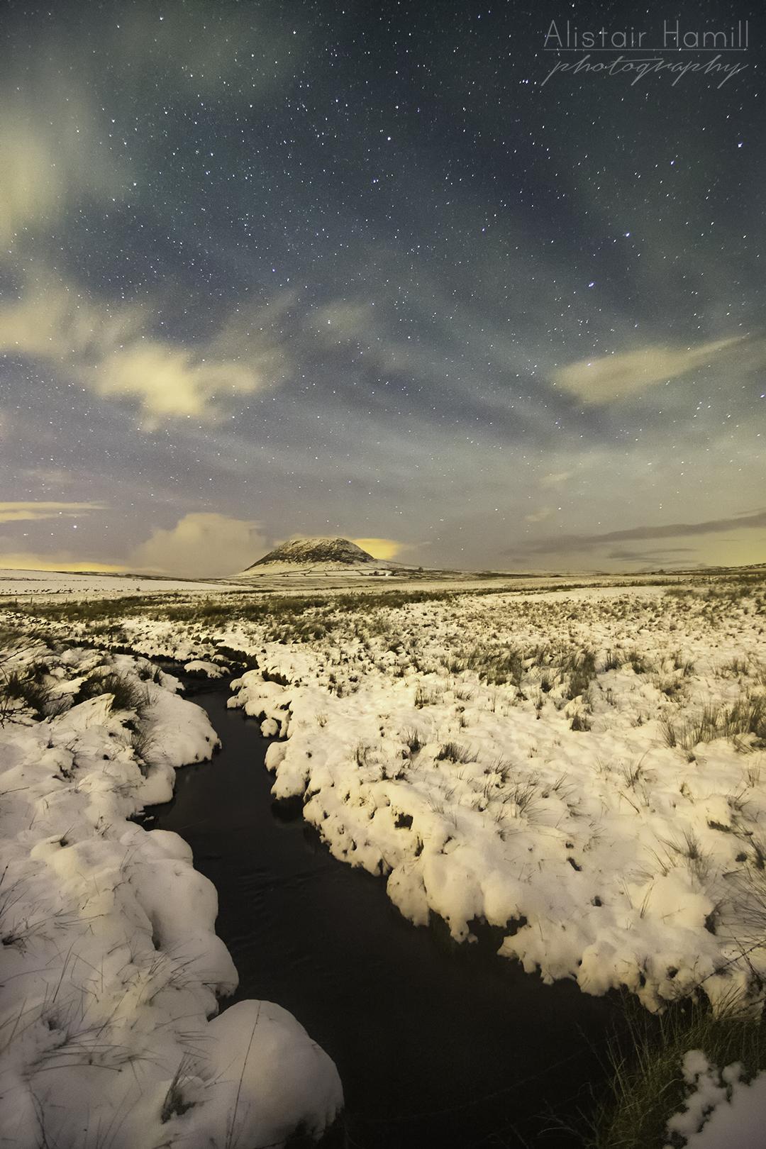 Snowy Slemish airglow portrait (large) WM.jpg