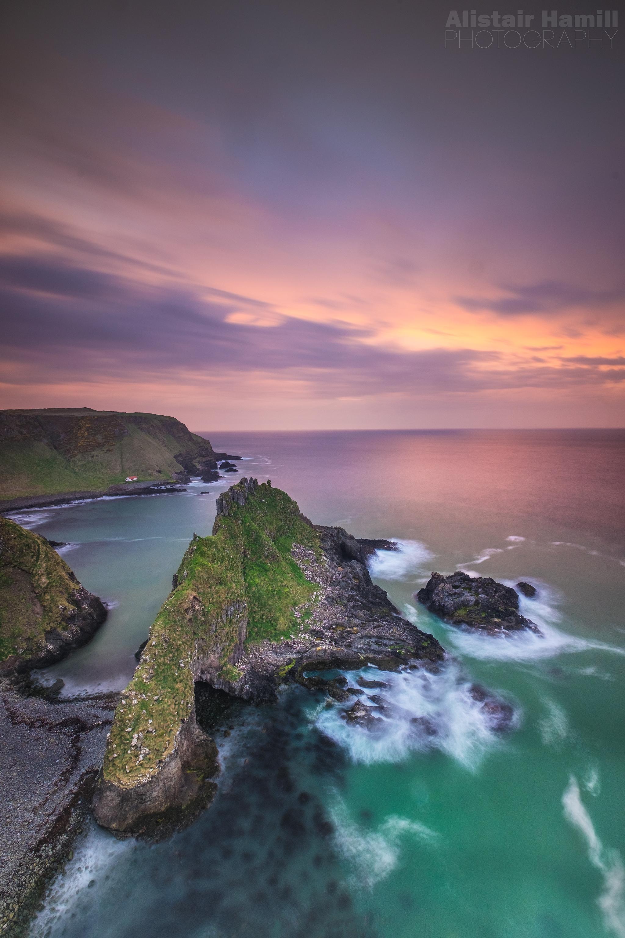 Wee island sunset (large) WM.jpg