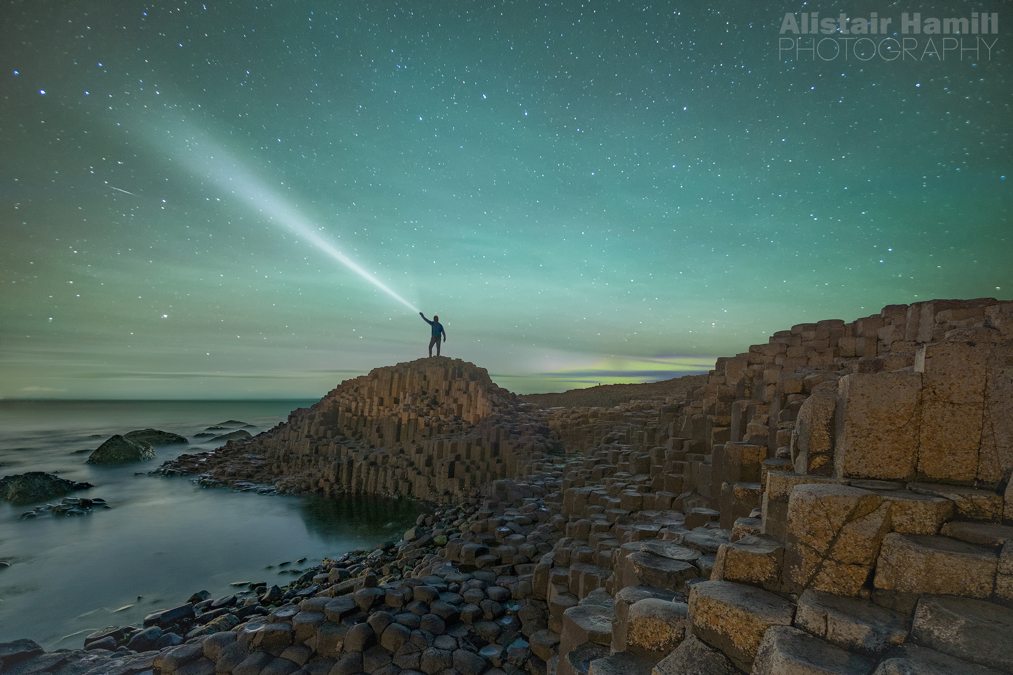 Airglow above the Causeway