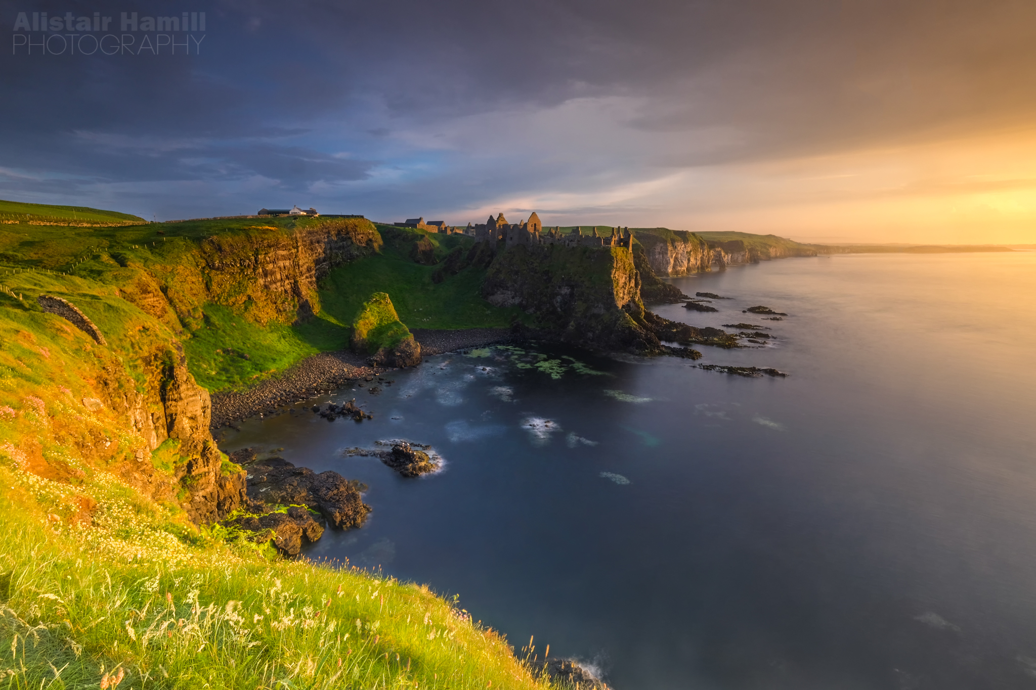 Dunluce before the fog.jpg