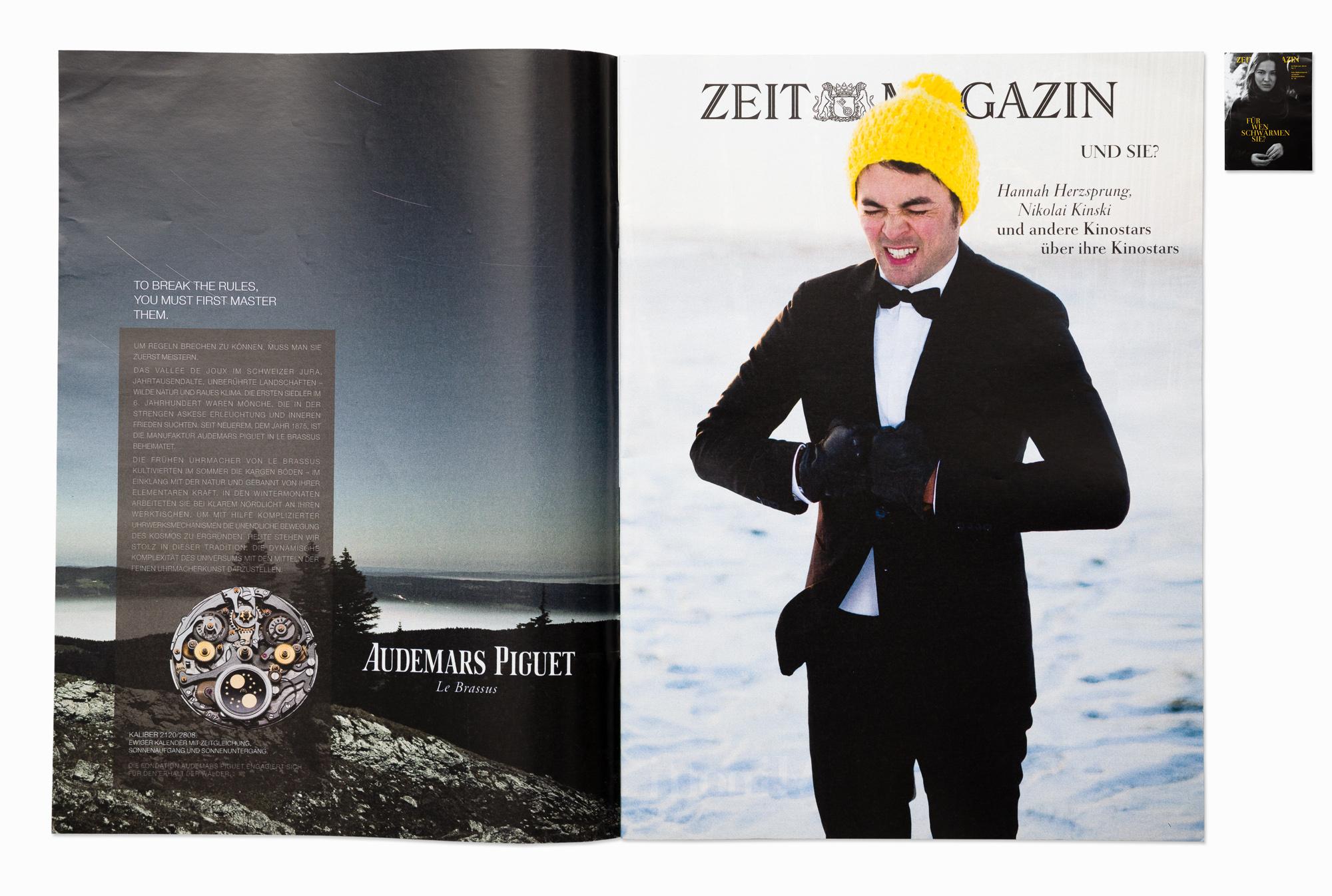 Actor Nikolai Kinski for ZEIT Magazin, Berlin 2014