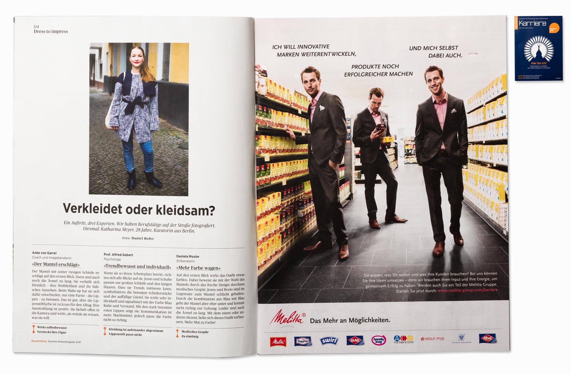 Katharina for Handelsblatt Karriere, Berlin, 2014