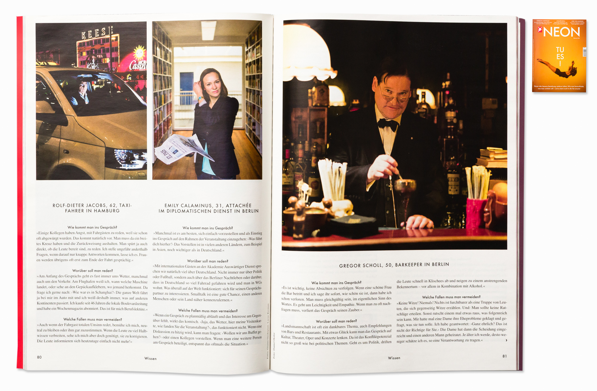 "Gregor Scholl, ""Rum Trader"" bar, for NEON Magazine, Berlin, 2014"