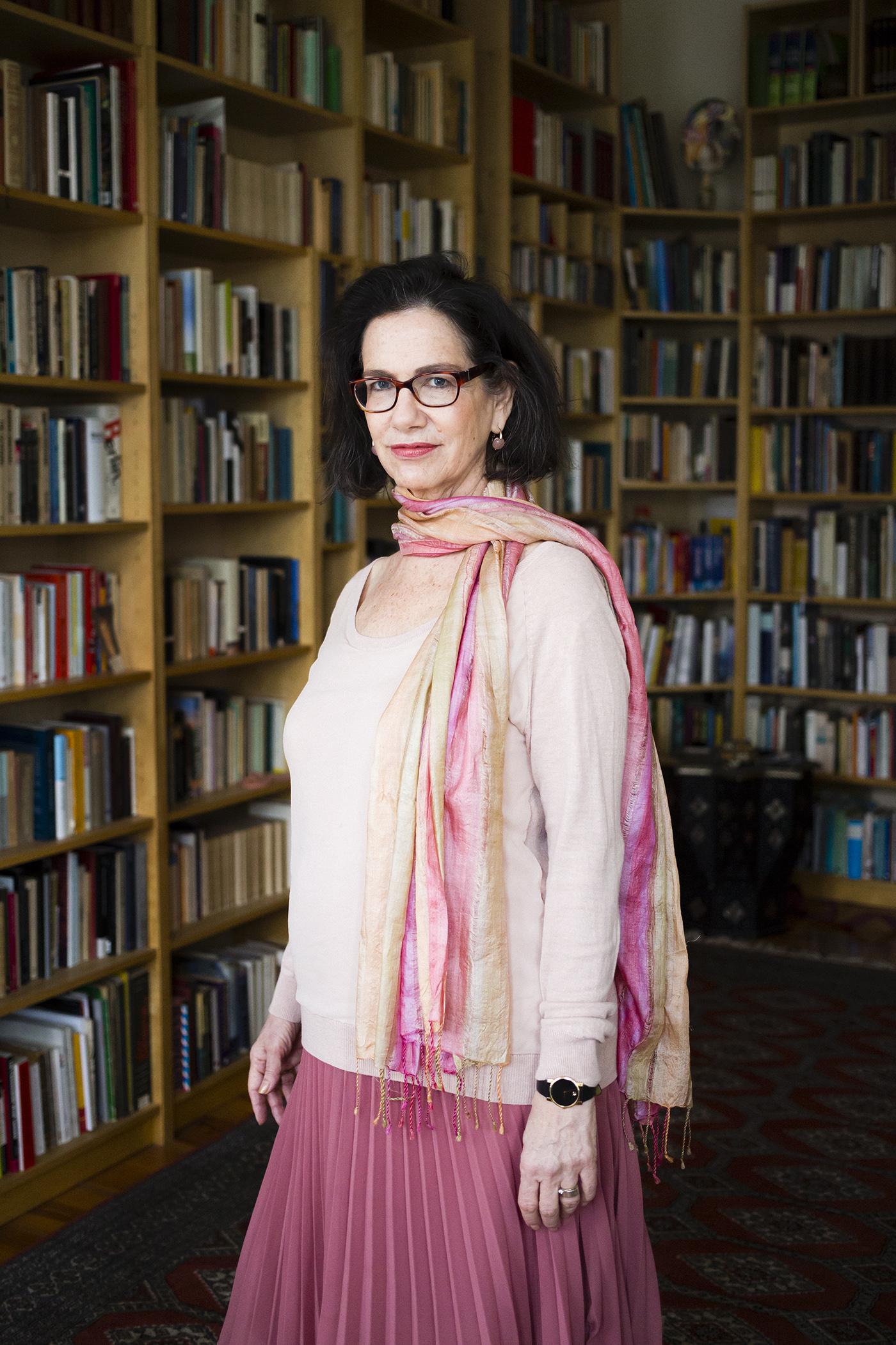 "Author Susan Neiman for ""Das Magazin"" (CH), Berlin 2015"