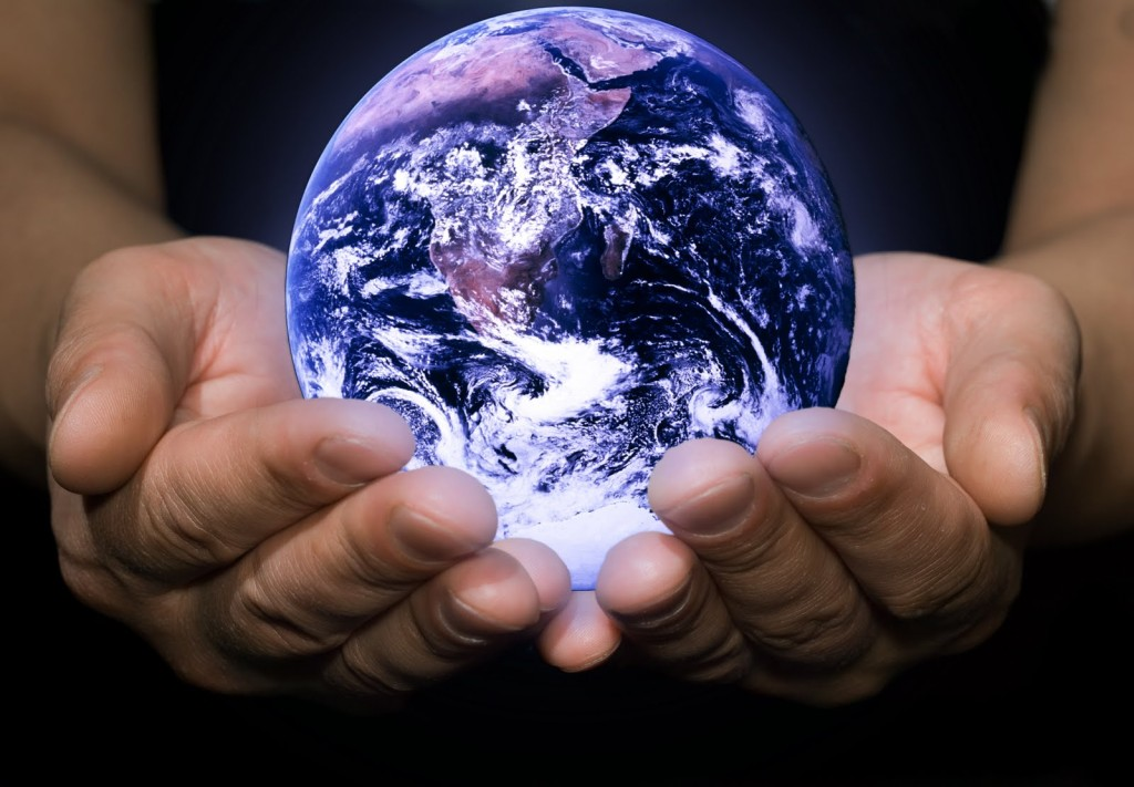 Earth in the hand