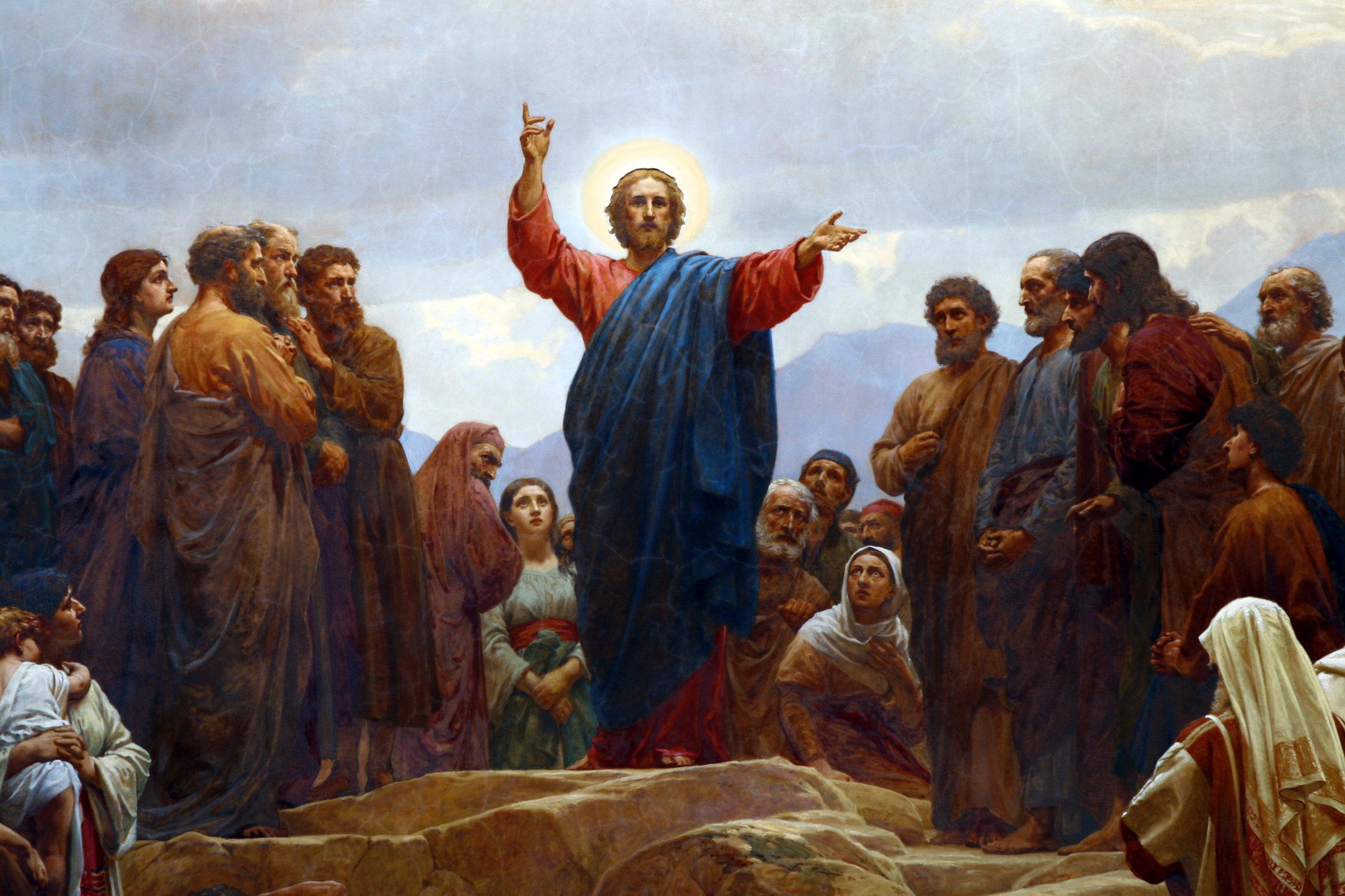Sermon on the MountCopenhagen Church Alter Painting