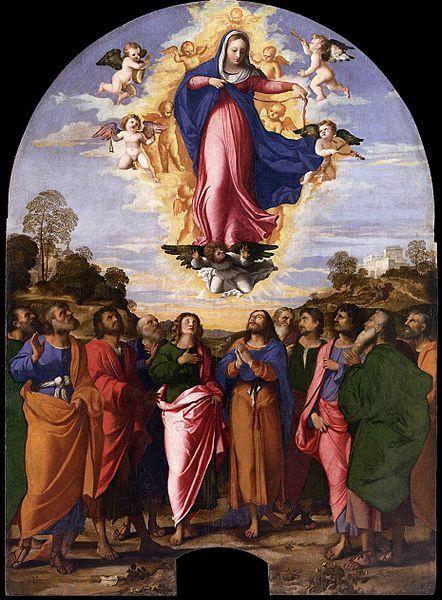 442px-Palma_il_Vecchio_-_Assumption_of_Mary_-_WGA16930.jpg