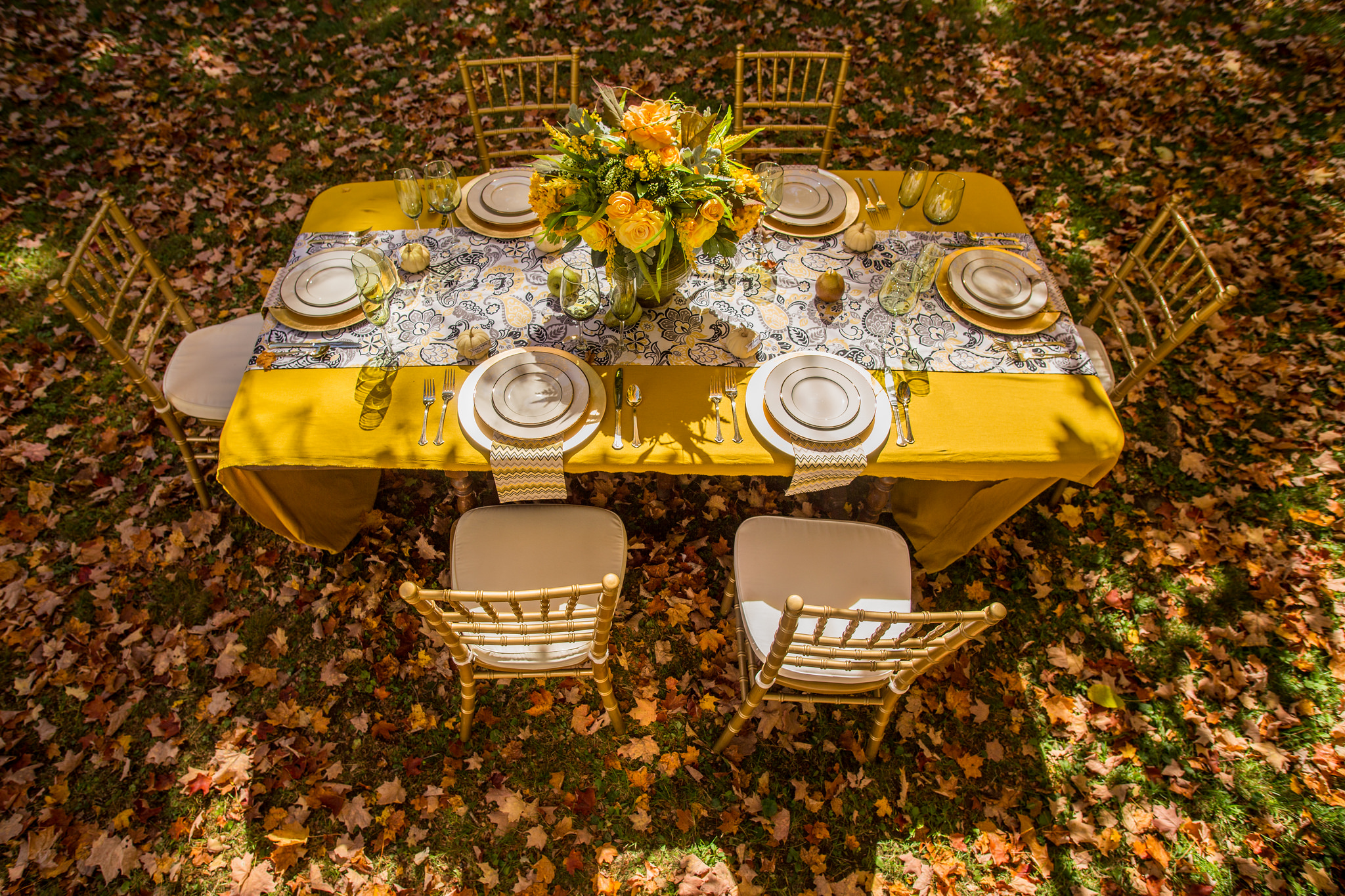 Parsimony Vintage- Event Planning-Mustard Wedding Inspiration
