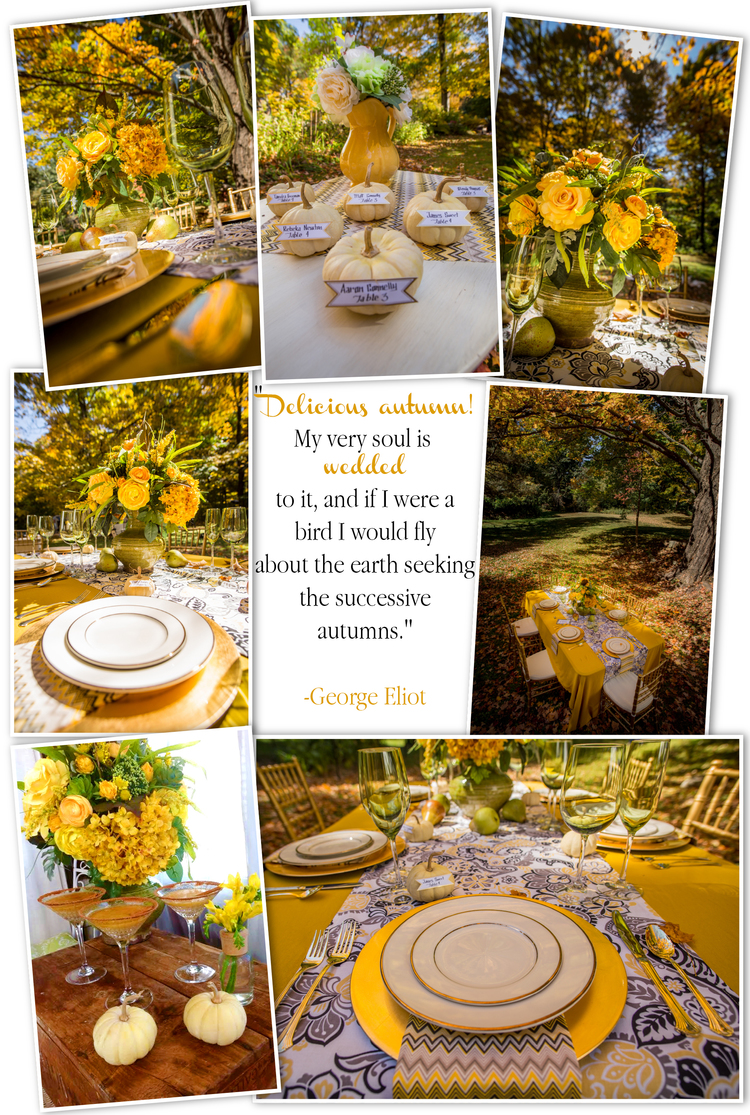 Parsimony Vintage- Event Planning-Mustard Wedding Inspiration