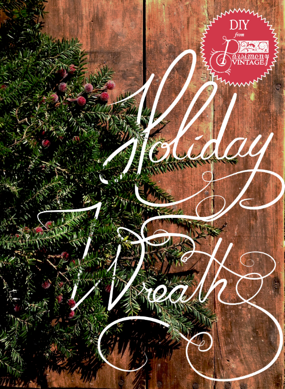 Parsimony Vintage- Event Planning-Holiday Wreath DIY