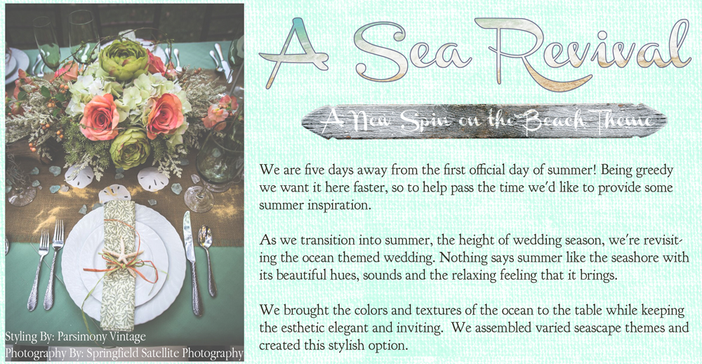 Beach Theme wedding Inspiration